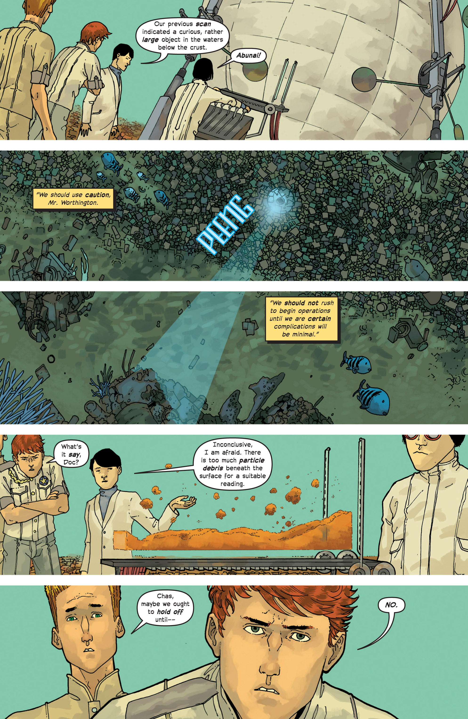 Read online Great Pacific comic -  Issue #8 - 22