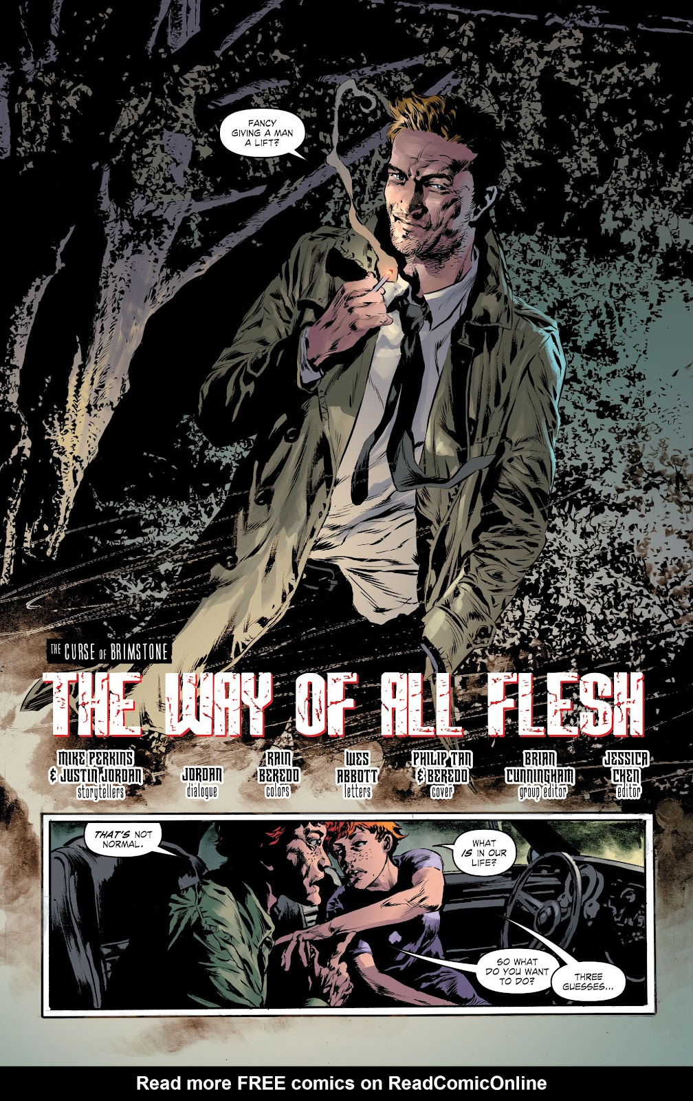 Read online The Curse of Brimstone: Ashes comic -  Issue # TPB (Part 1) - 8