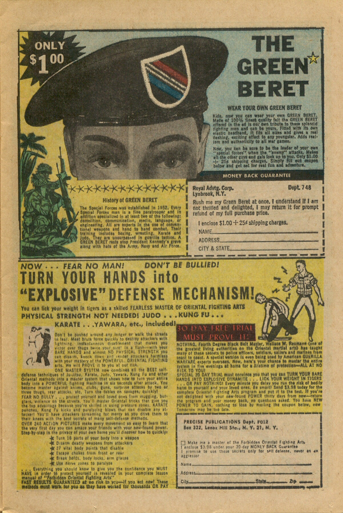 Read online Sgt. Fury comic -  Issue #35 - 13