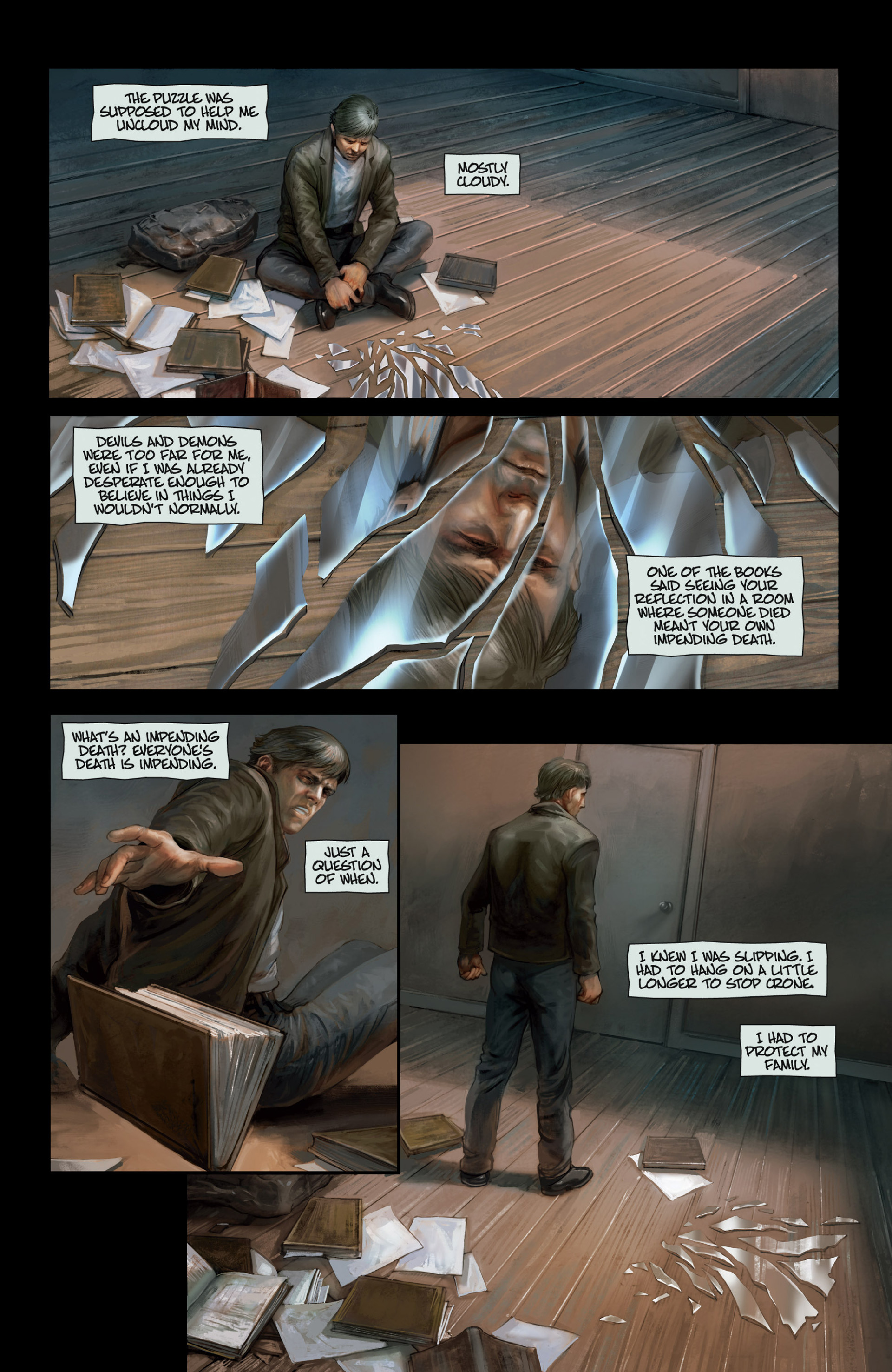 Read online Abattoir comic -  Issue #3 - 20