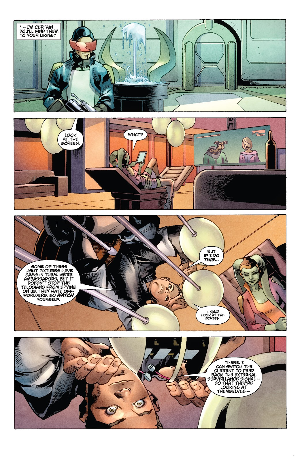 Read online Star Wars Legends: Rise of the Sith - Epic Collection comic -  Issue # TPB 1 (Part 2) - 11