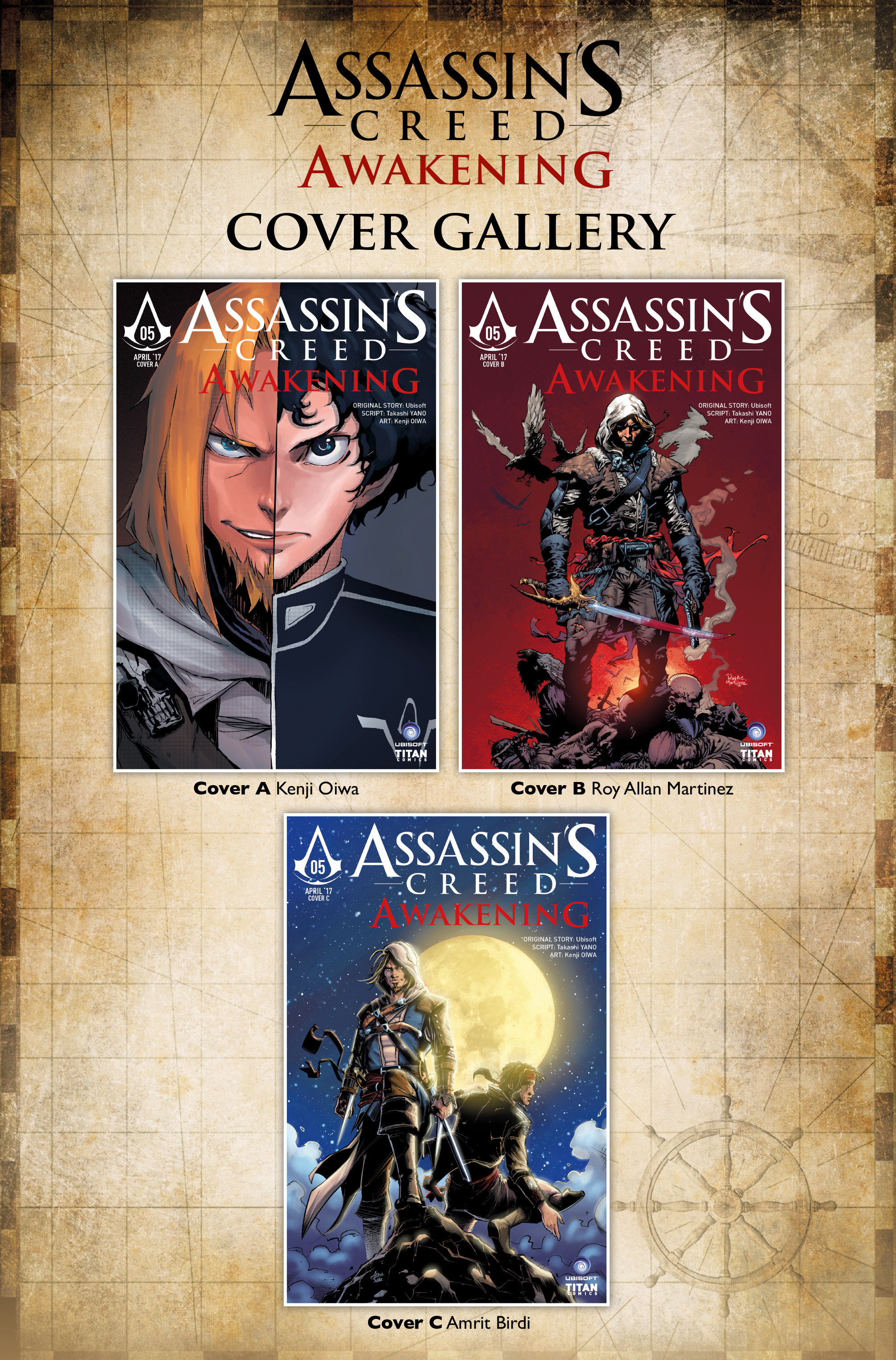 Read online Assassin's Creed: Awakening comic -  Issue #5 - 37