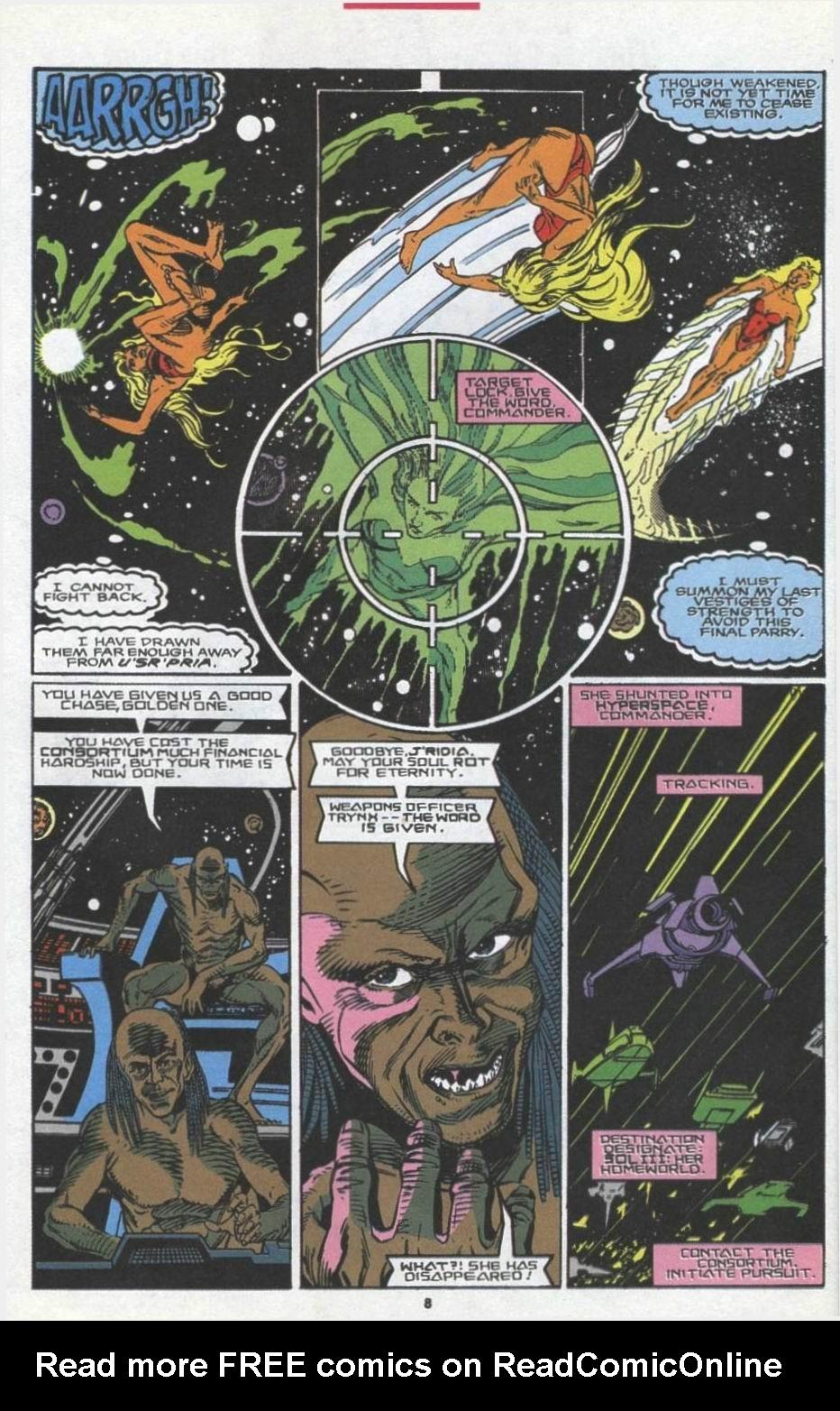 Read online Alpha Flight (1983) comic -  Issue #97 - 7