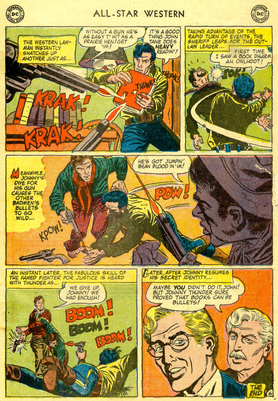 Read online All-Star Western (1951) comic -  Issue #78 - 33