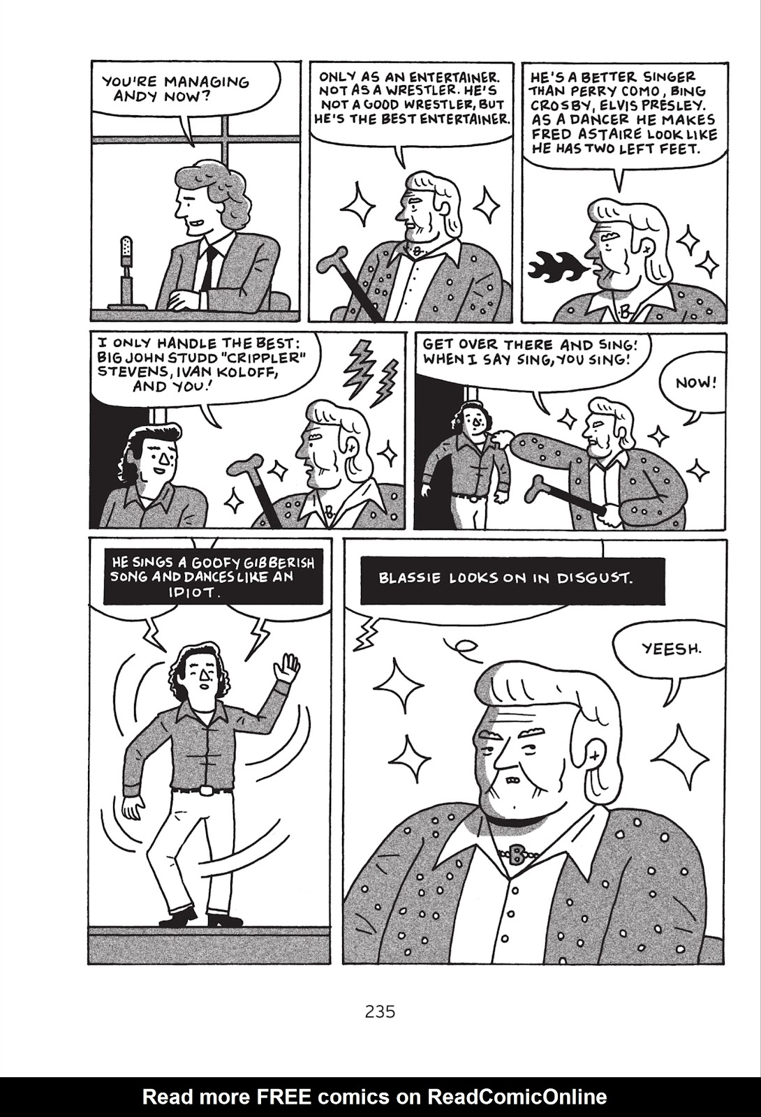 Read online Is This Guy For Real?: The Unbelievable Andy Kaufman comic -  Issue # TPB (Part 3) - 40