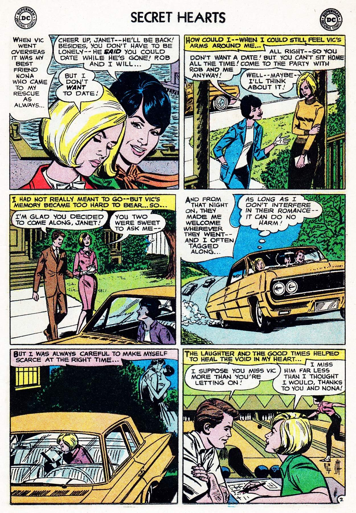 Read online Secret Hearts comic -  Issue #105 - 13