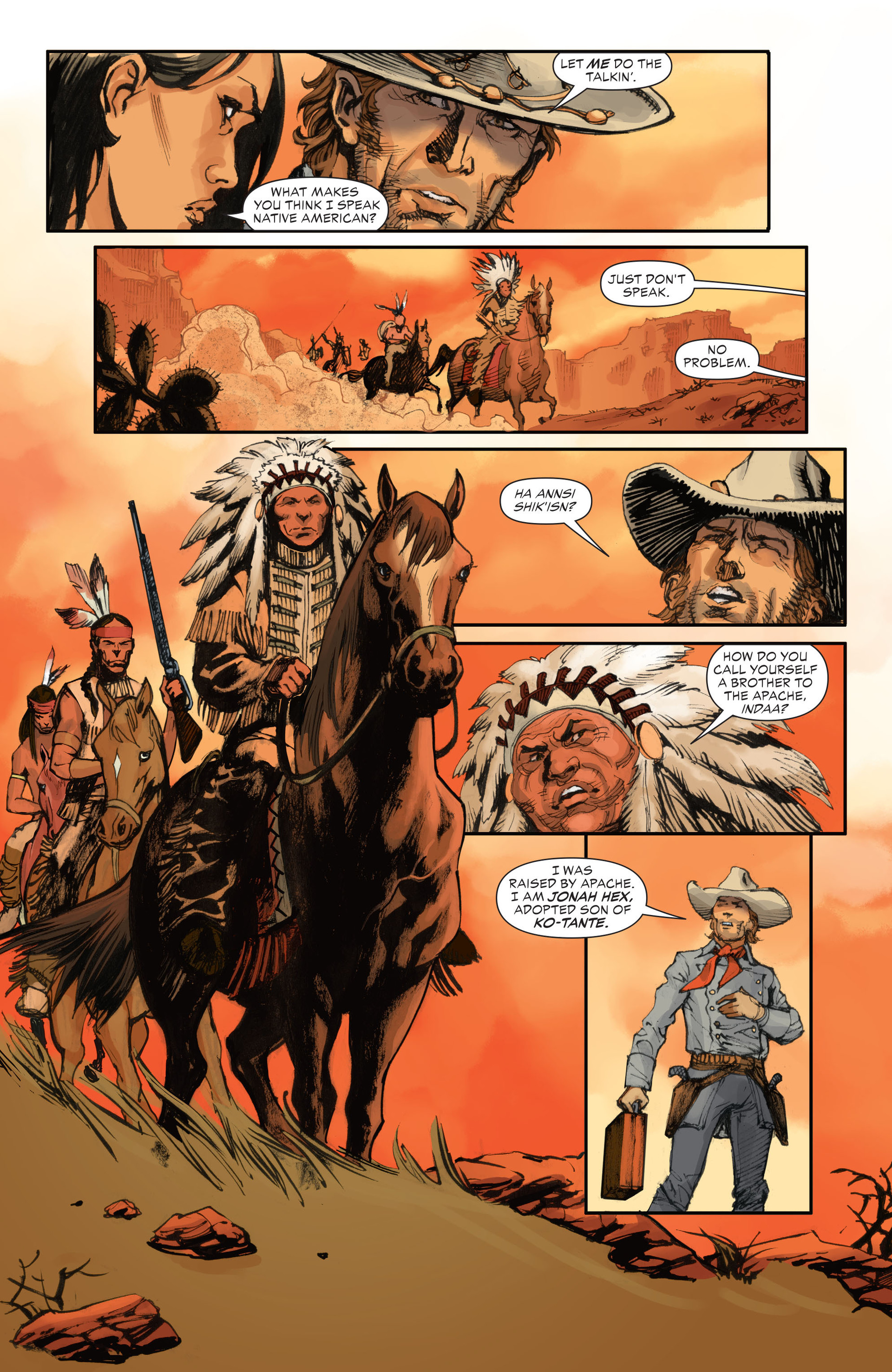 Read online All-Star Western (2011) comic -  Issue #28 - 21