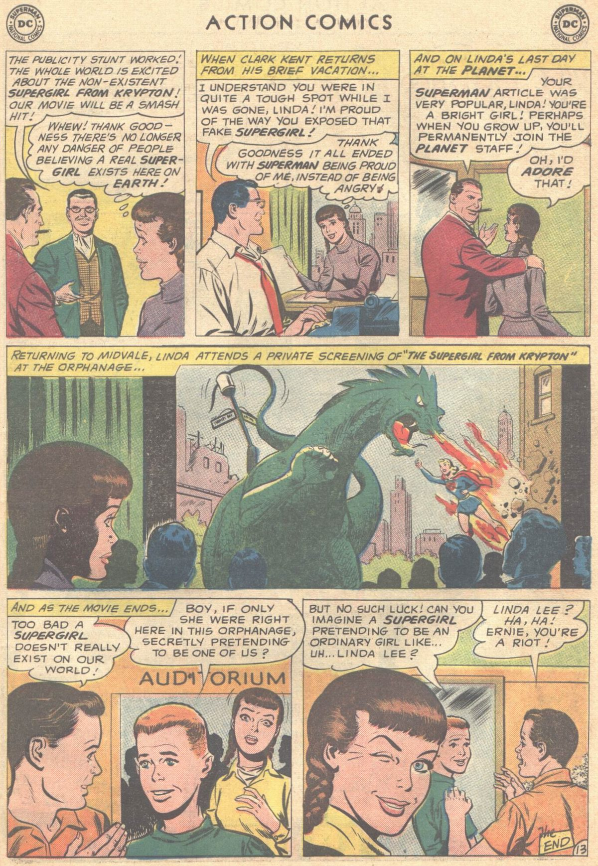 Read online Action Comics (1938) comic -  Issue #268 - 31
