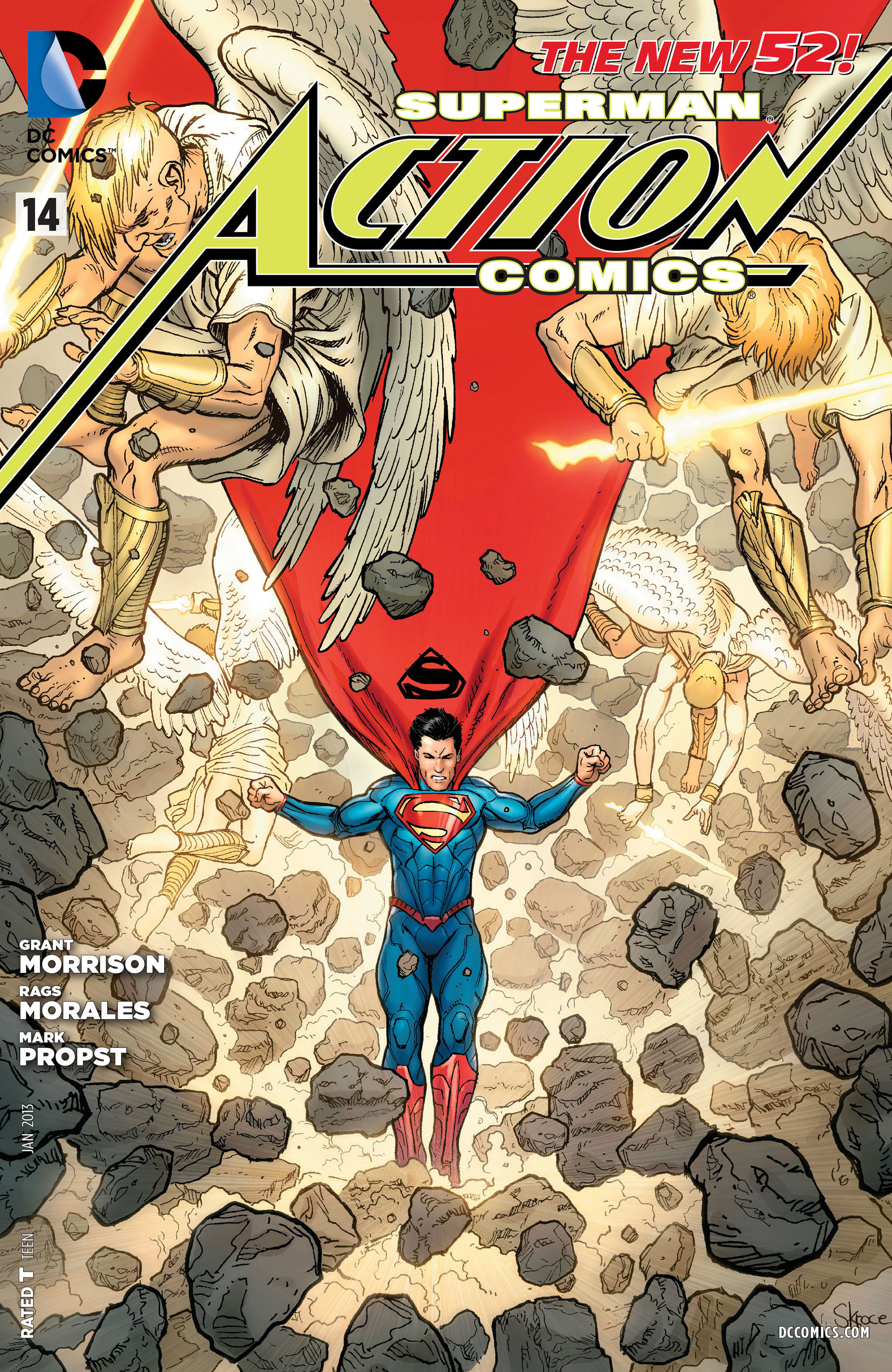 Read online Action Comics (2011) comic -  Issue #14 - 32