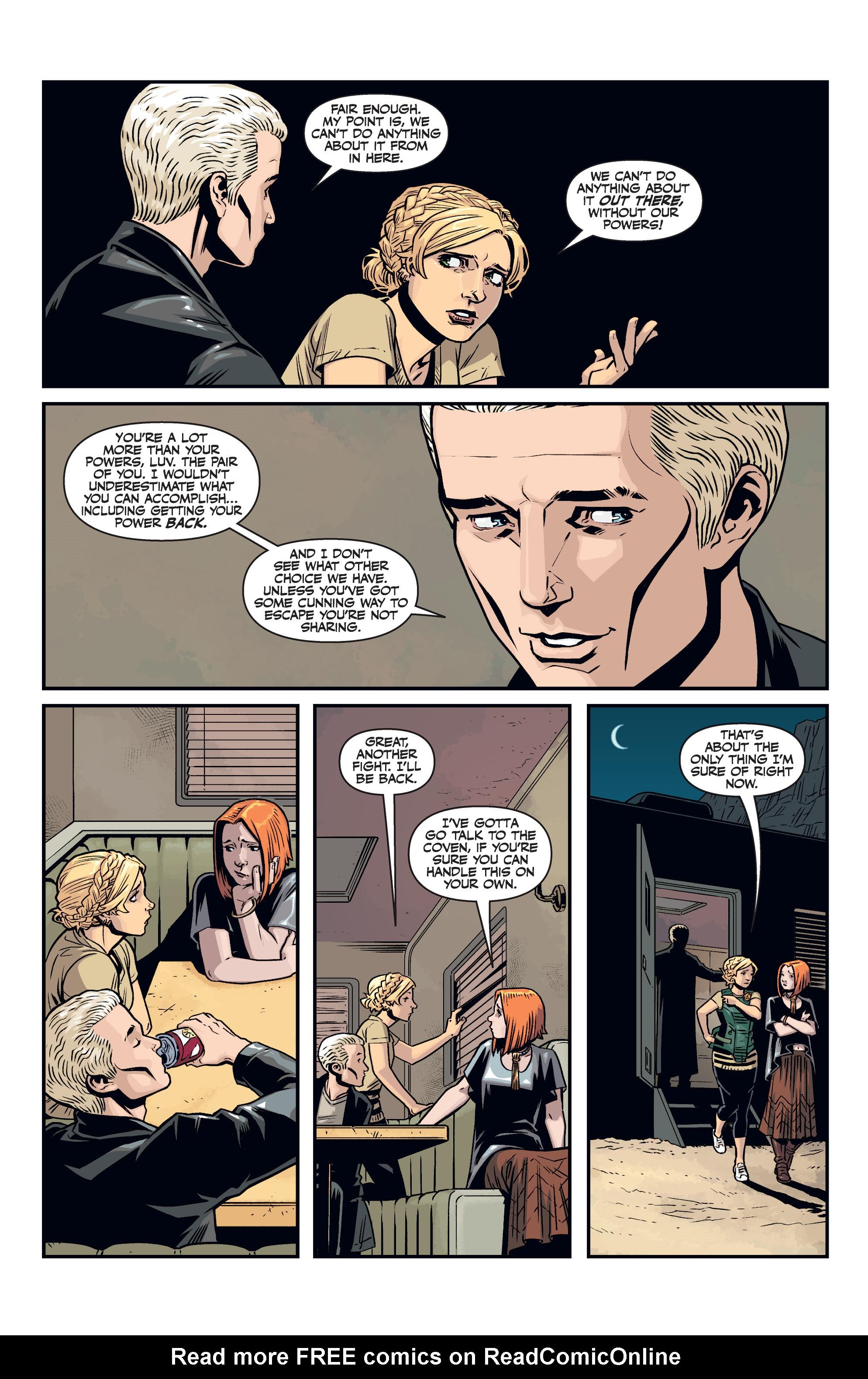 Read online Buffy the Vampire Slayer Season 11 comic -  Issue #7 - 7
