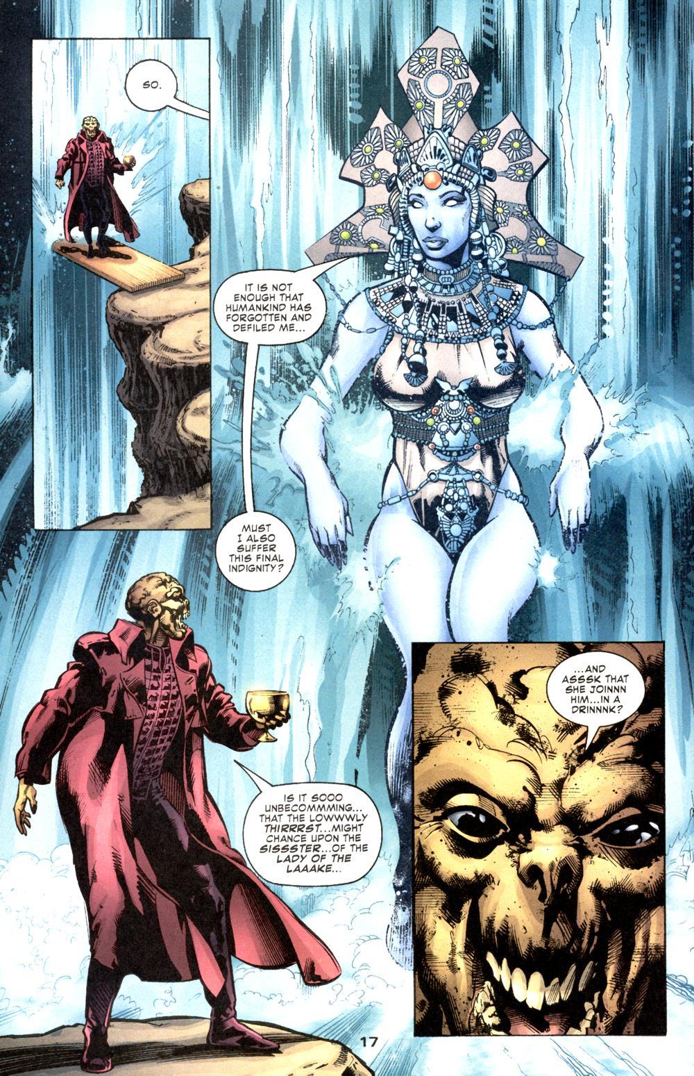 Read online Aquaman (2003) comic -  Issue #6 - 19