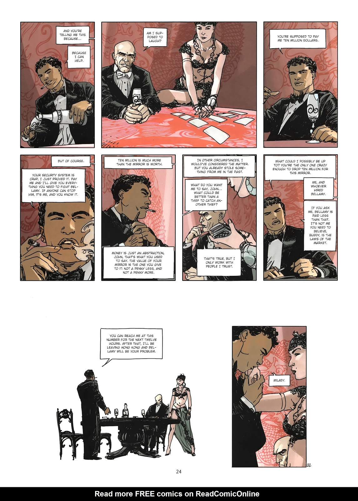 Read online Cutting Edge (2013) comic -  Issue #3 - 22