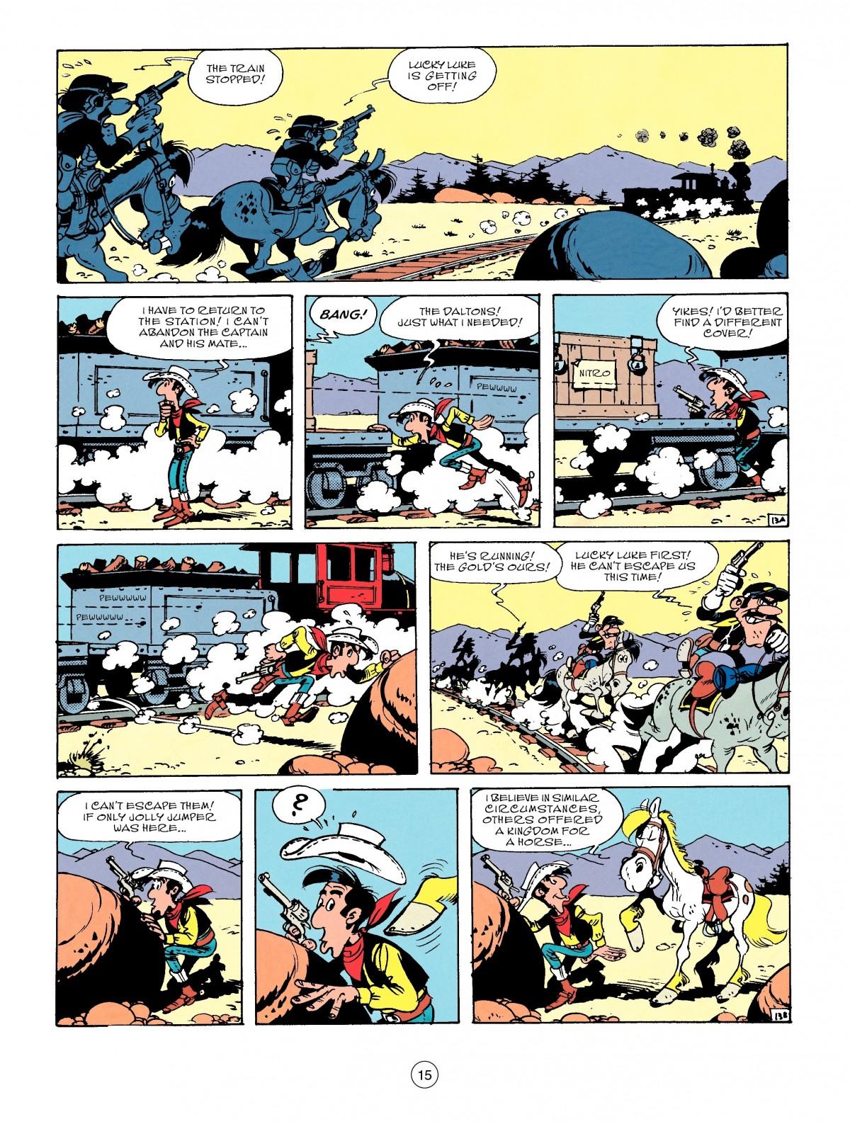 Read online A Lucky Luke Adventure comic -  Issue #53 - 15