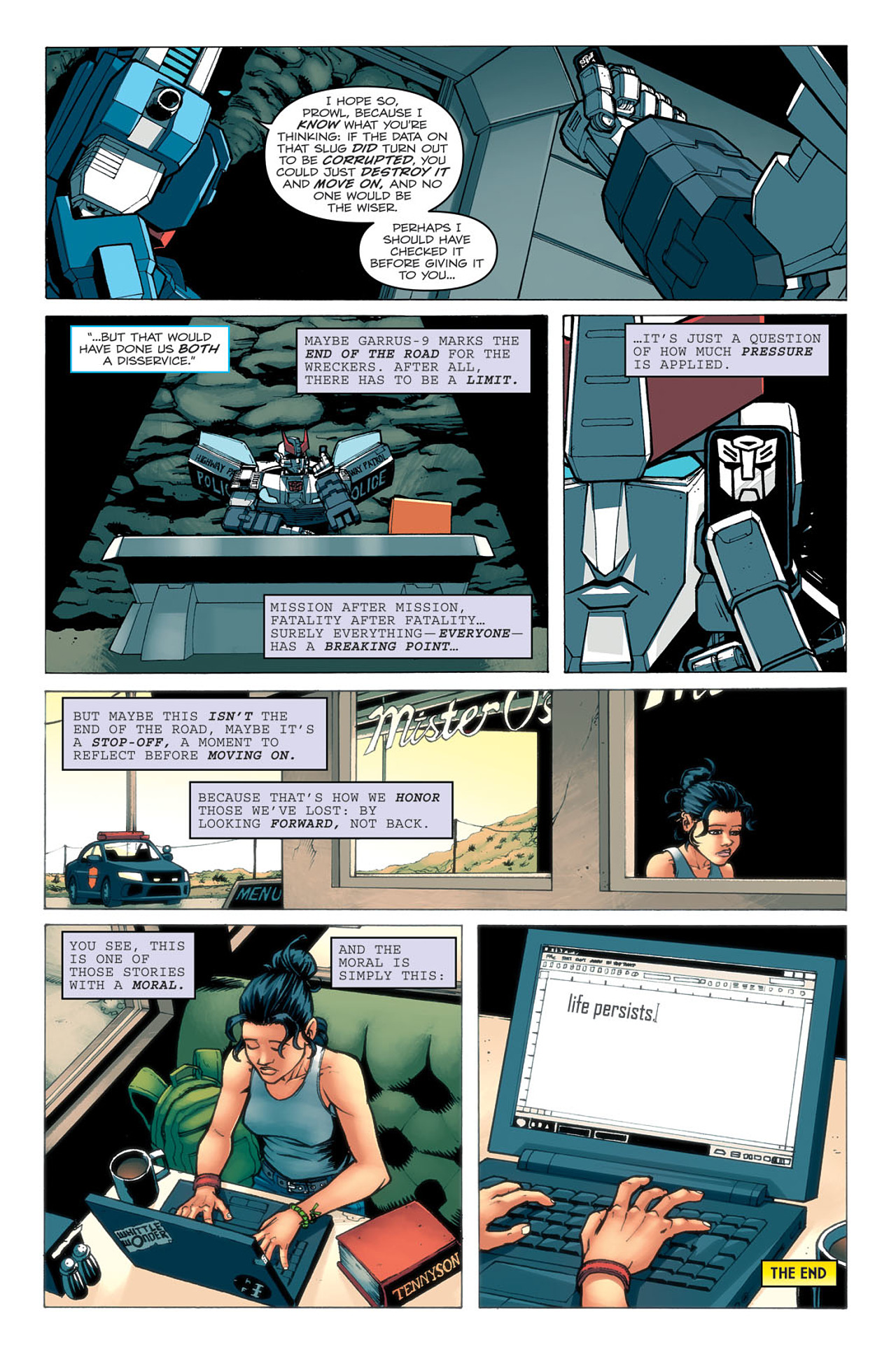 Read online Transformers: Last Stand of The Wreckers comic -  Issue #5 - 25