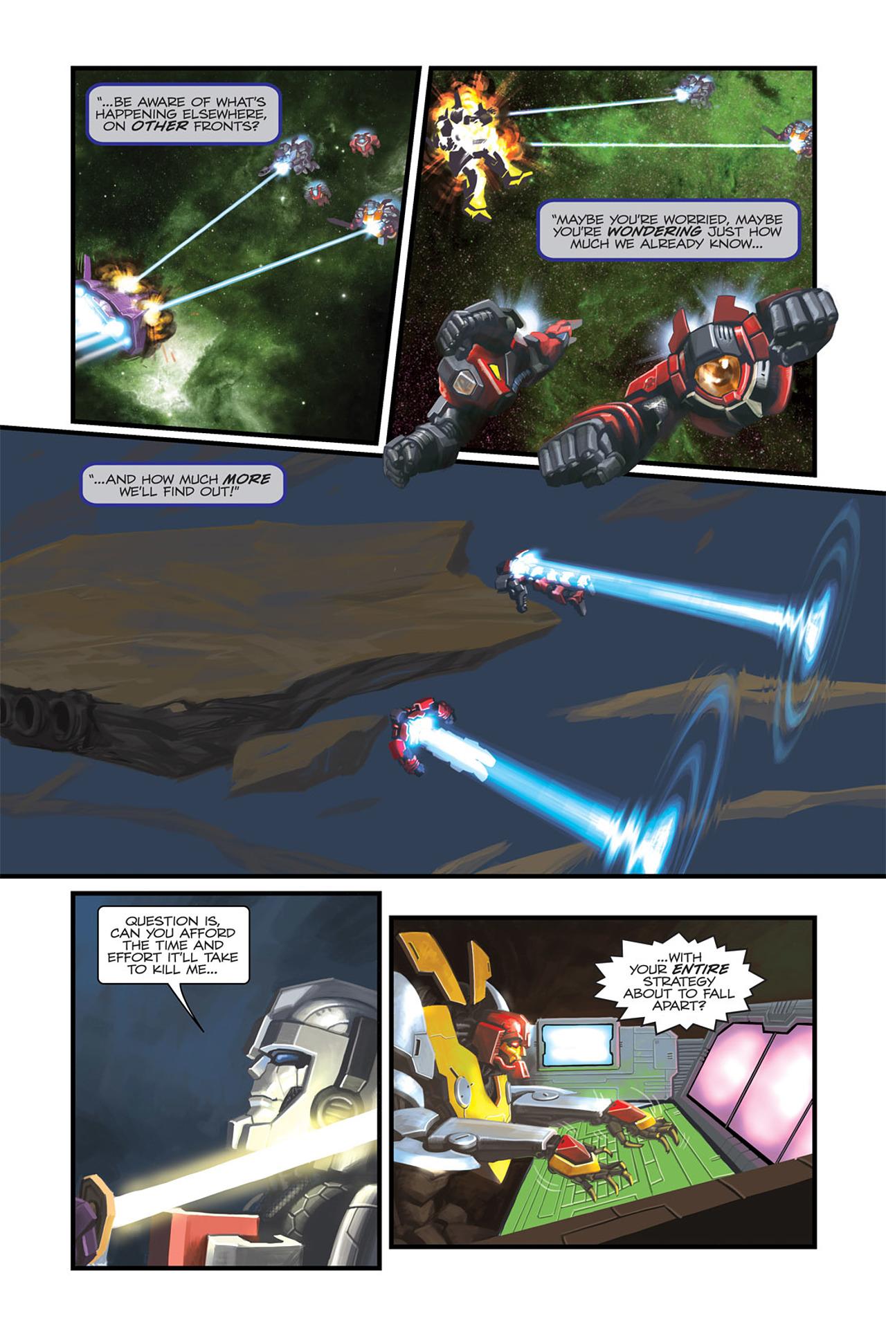 Read online Transformers Spotlight: Sideswipe comic -  Issue # Full - 17