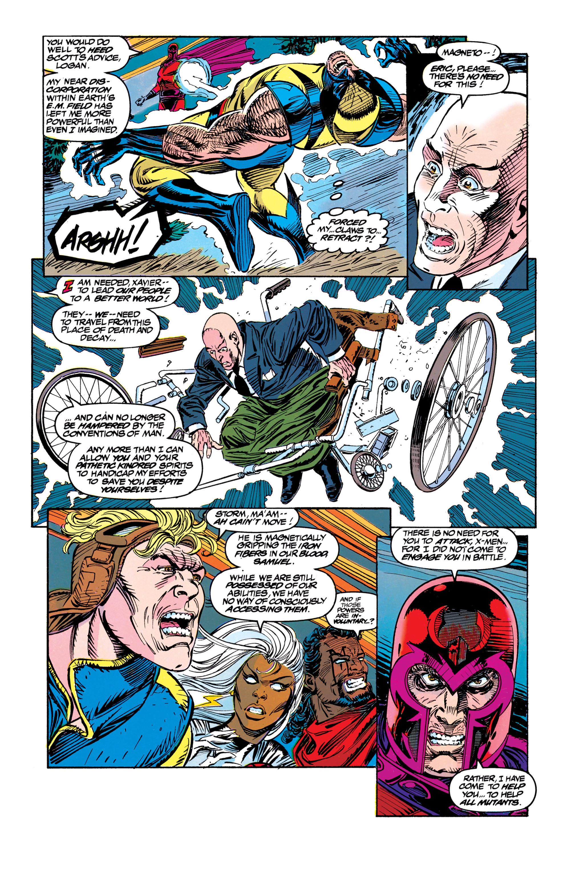 Read online Uncanny X-Men (1963) comic -  Issue #304 - 29