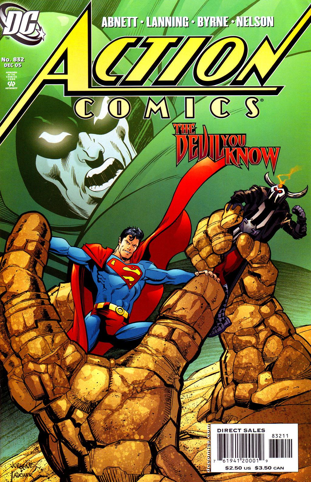 Action Comics (1938) 832 Page 1