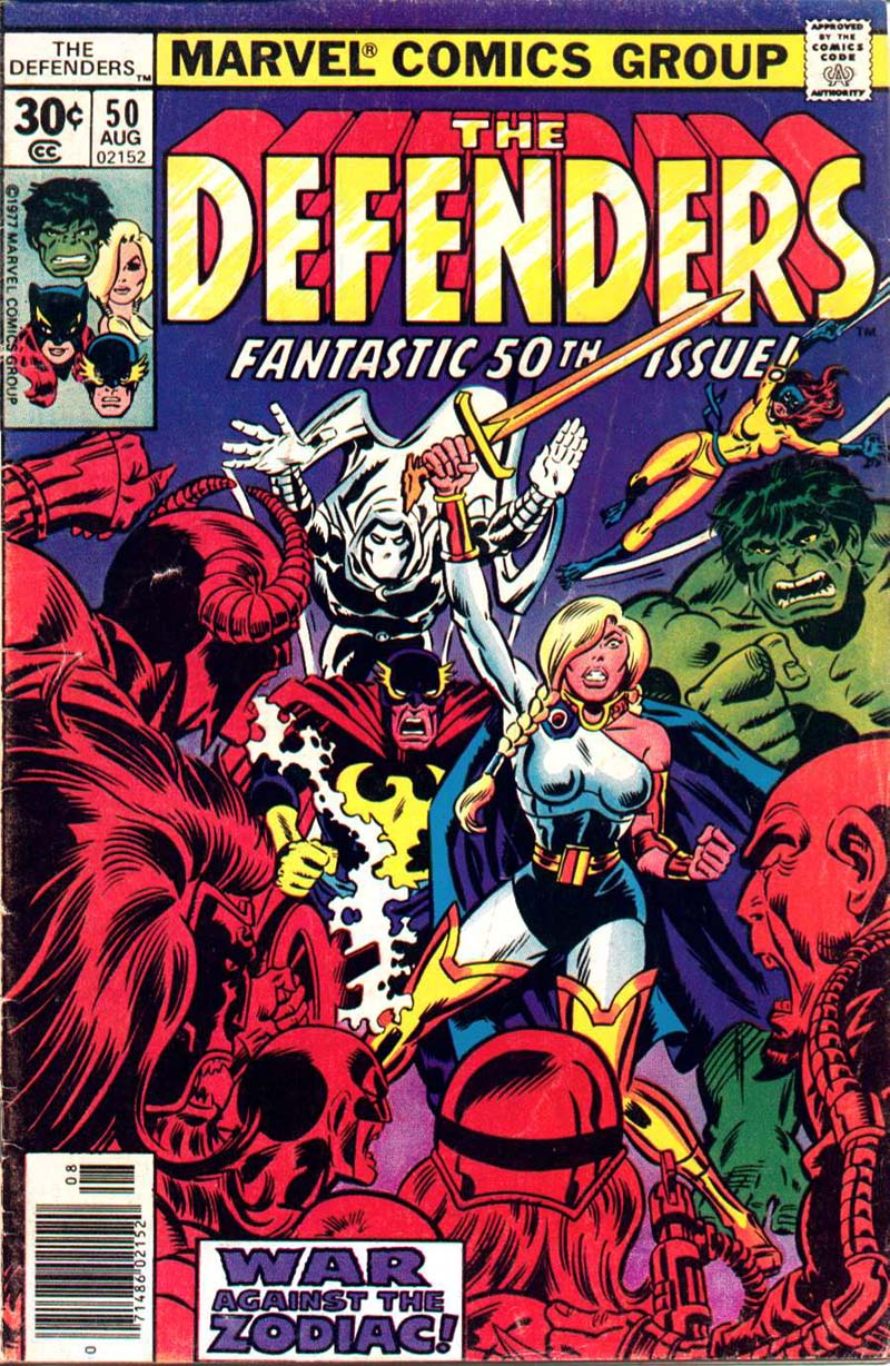 The Defenders (1972) issue 50 - Page 1