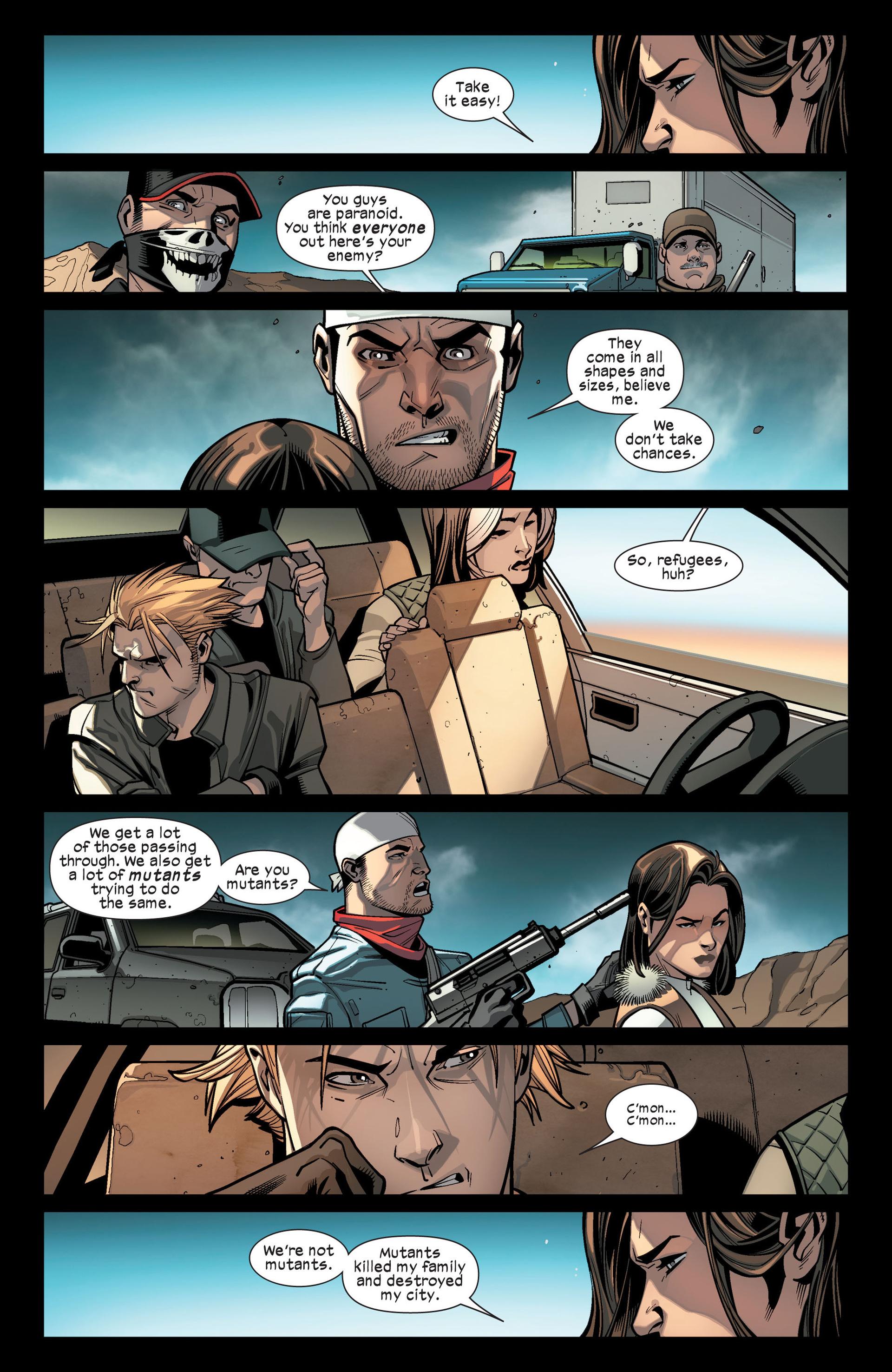Read online Ultimate Comics X-Men comic -  Issue #14 - 17