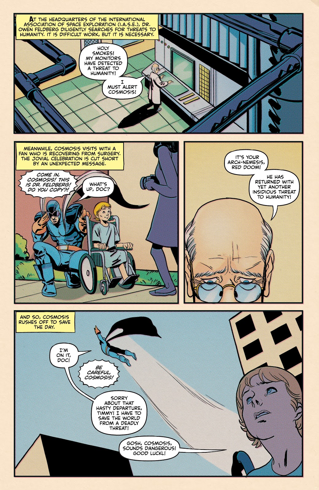 Read online Superb comic -  Issue #19 - 21