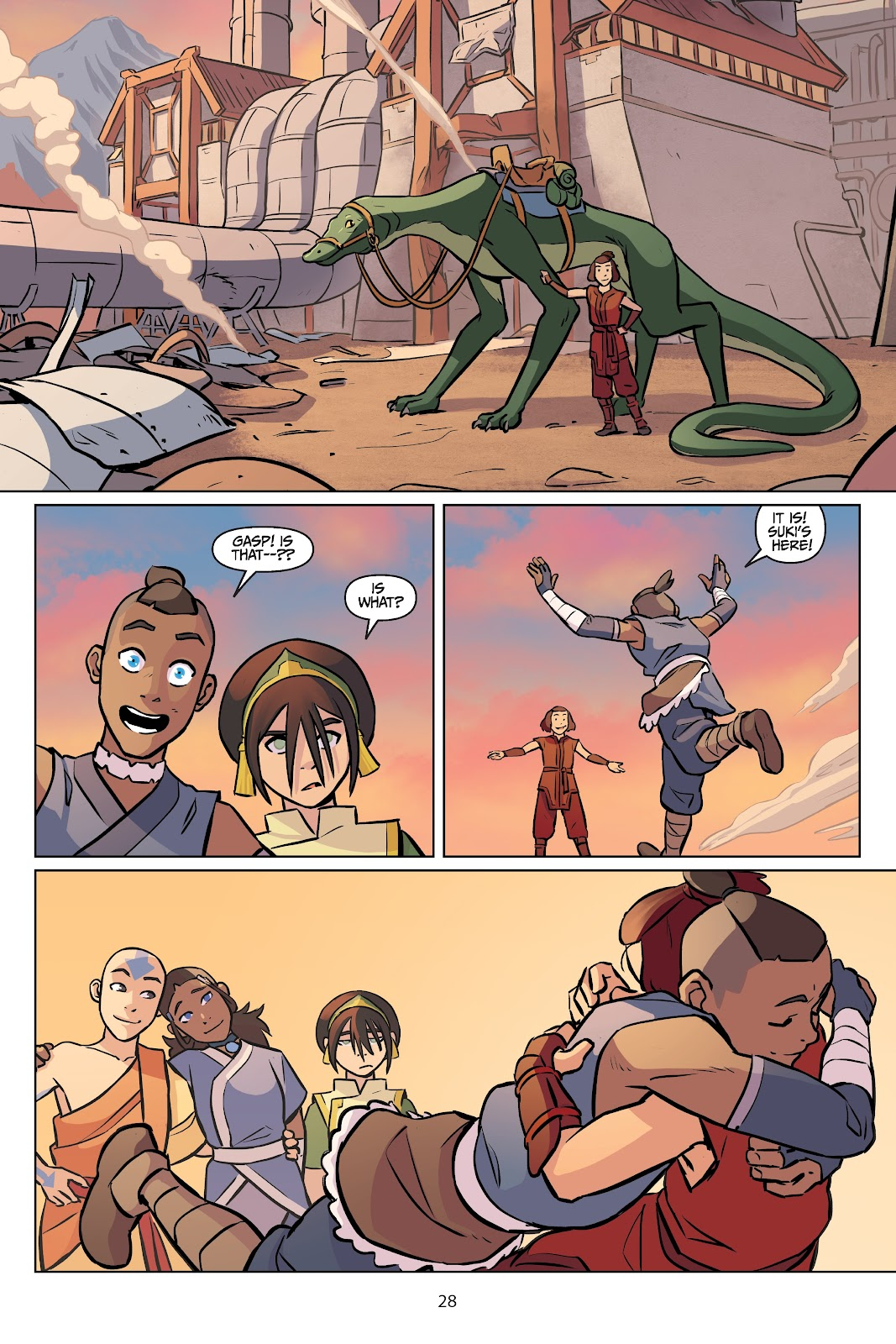 Read online Nickelodeon Avatar: The Last Airbender - Imbalance comic -  Issue # TPB 2 - 29