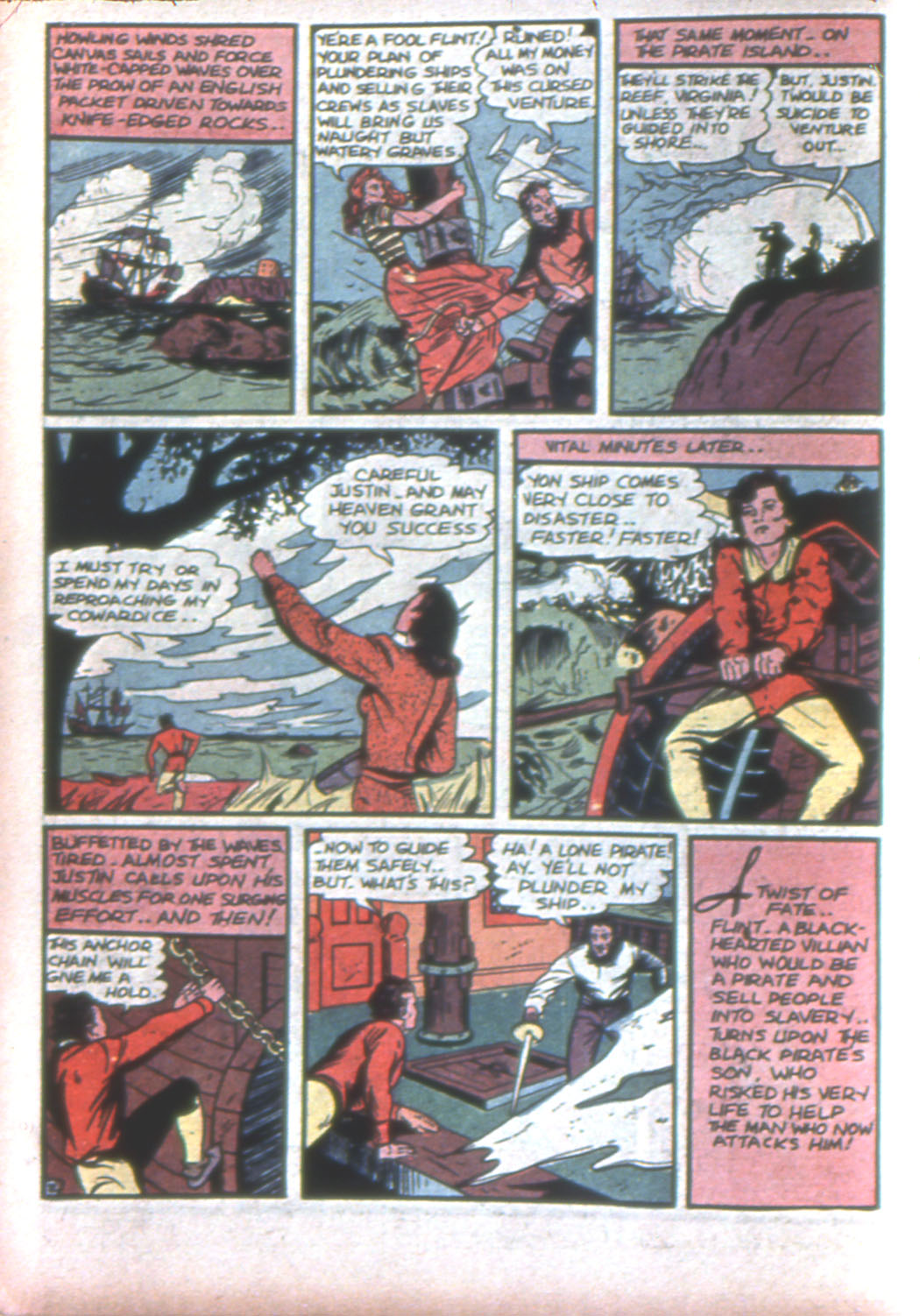 Read online Sensation (Mystery) Comics comic -  Issue #15 - 18