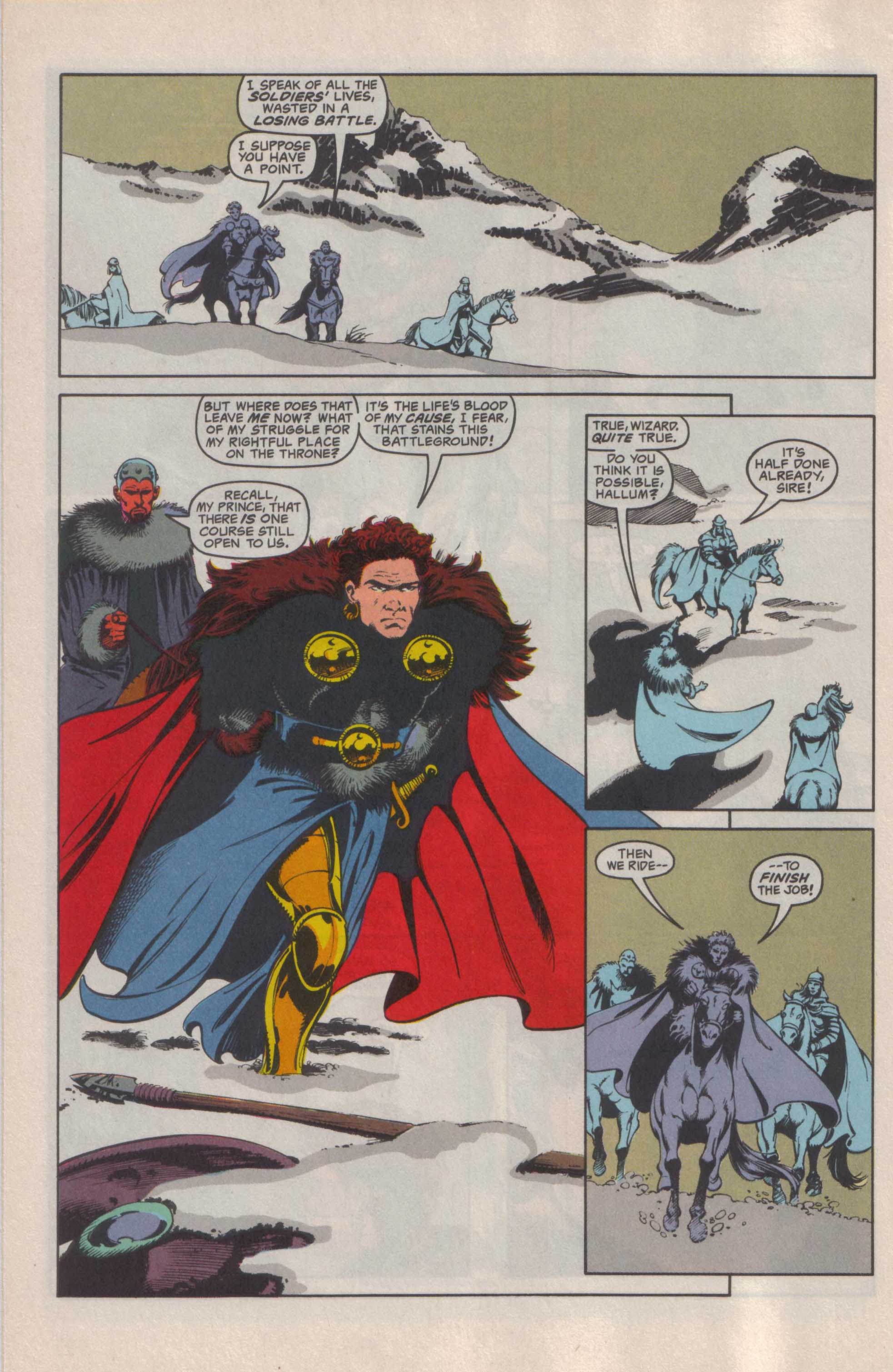 Read online Advanced Dungeons & Dragons comic -  Issue #25 - 12