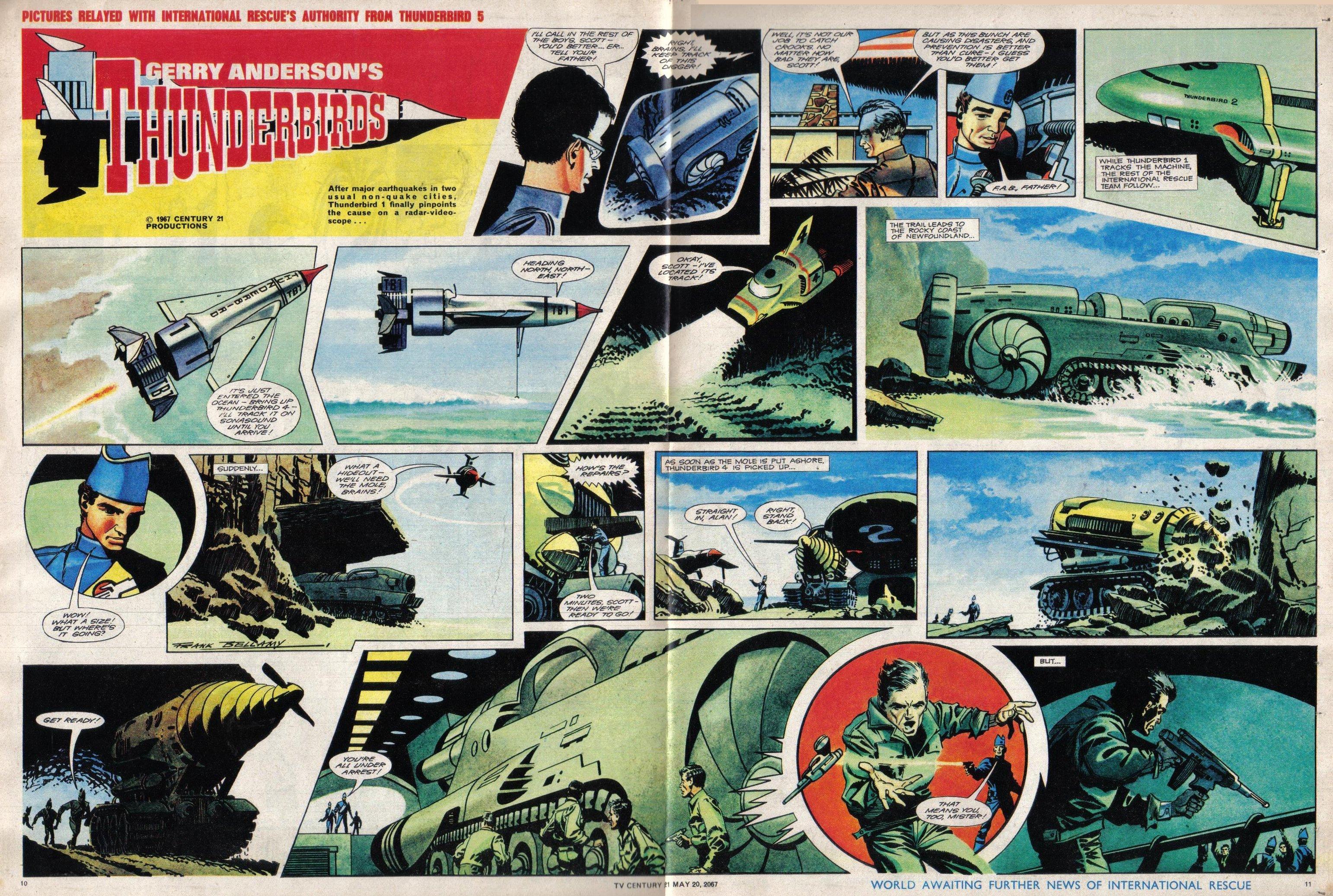 Read online TV Century 21 (TV 21) comic -  Issue #122 - 10