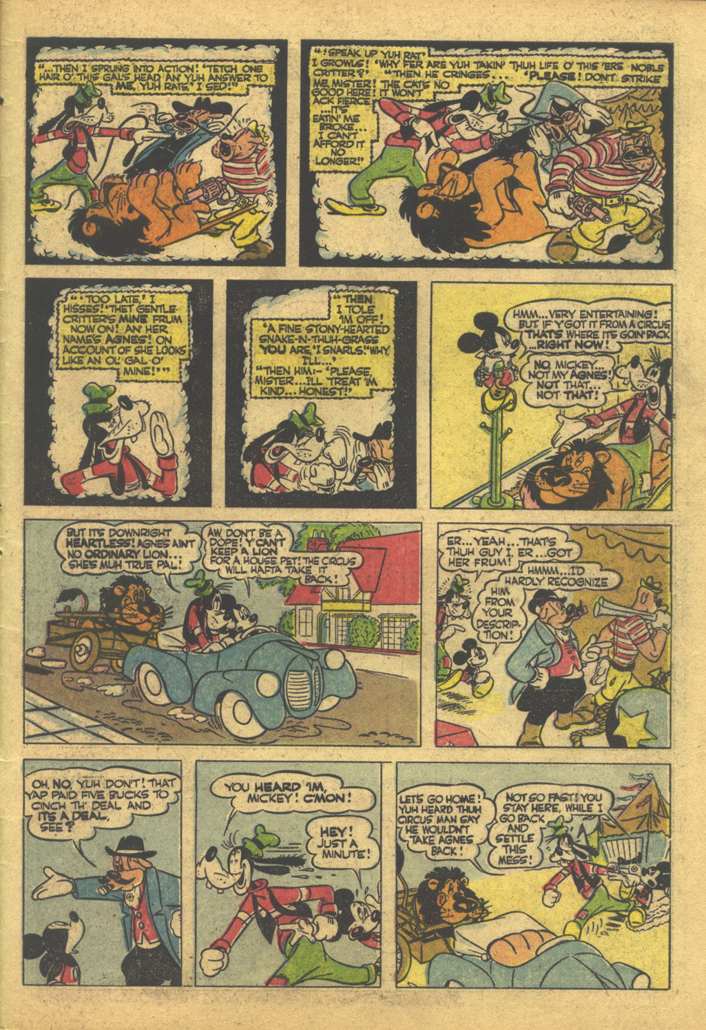 Walt Disney's Comics and Stories issue 86 - Page 45