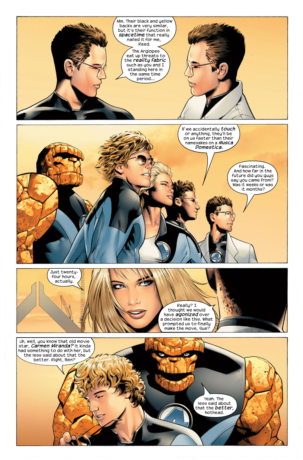 Read online Ultimate Fantastic Four (2004) comic -  Issue #27 - 4