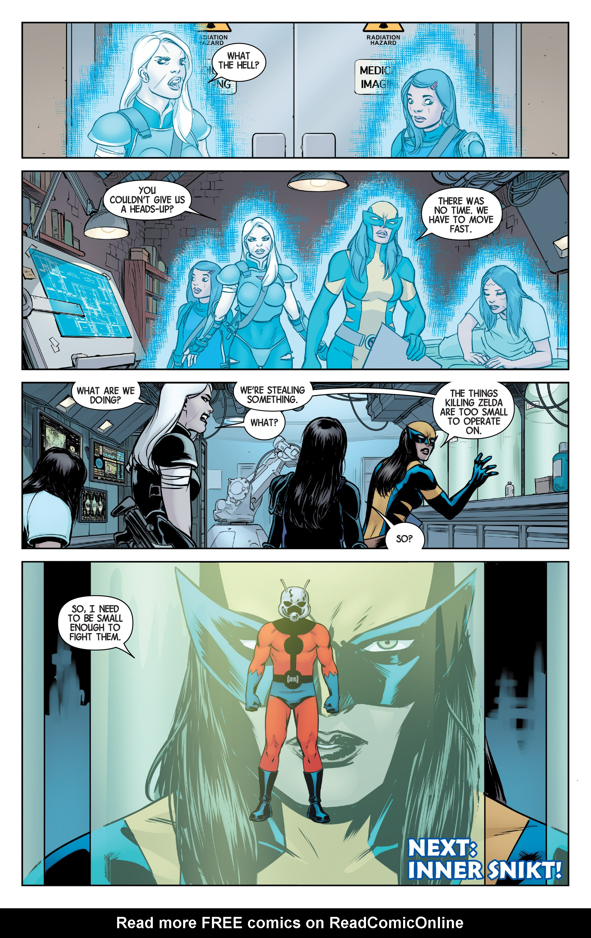 Read online All-New Wolverine (2016) comic -  Issue #4 - 22