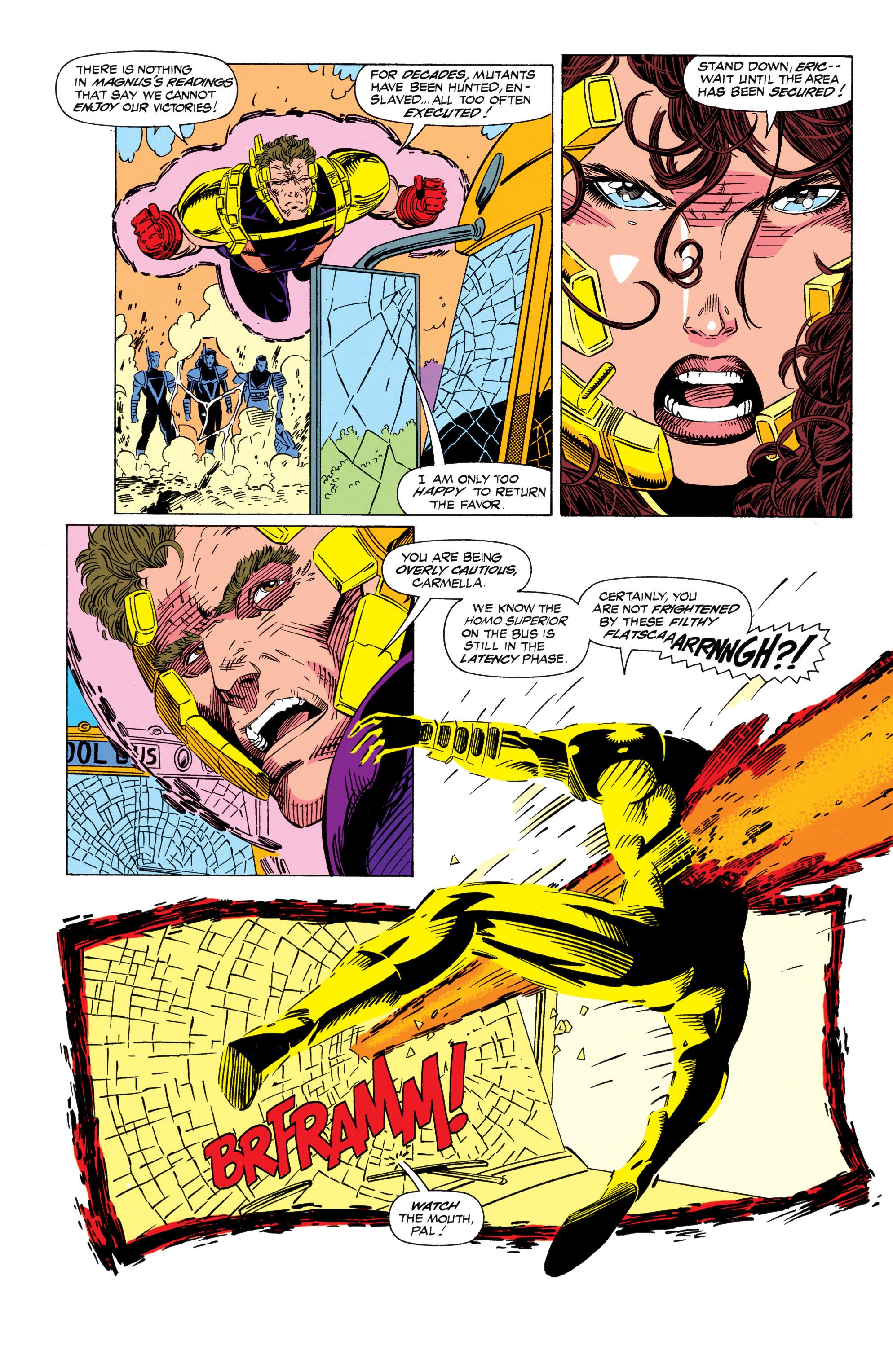 Read online Uncanny X-Men (1963) comic -  Issue #298 - 12