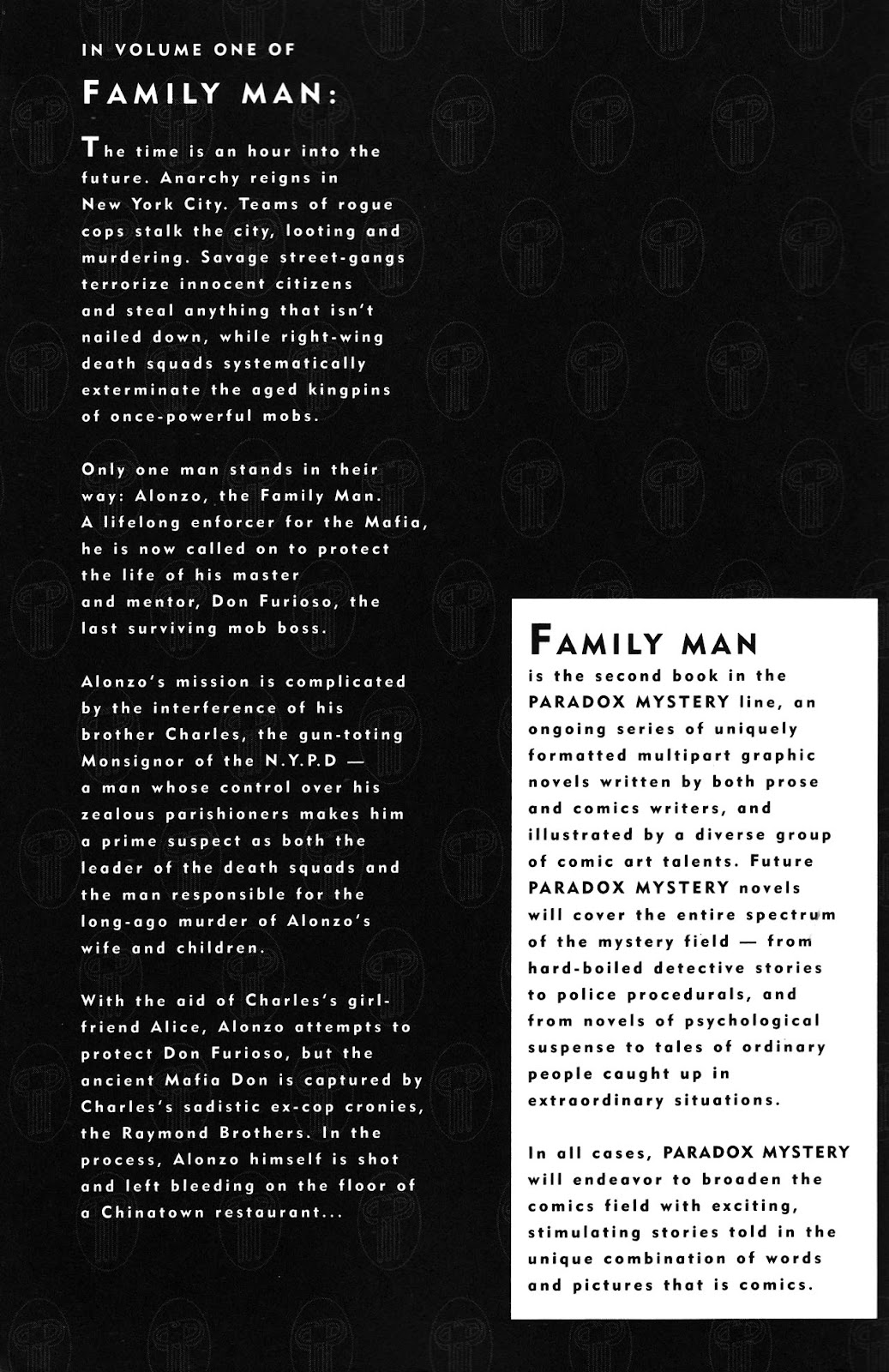 Read online Family Man comic -  Issue #2 - 3