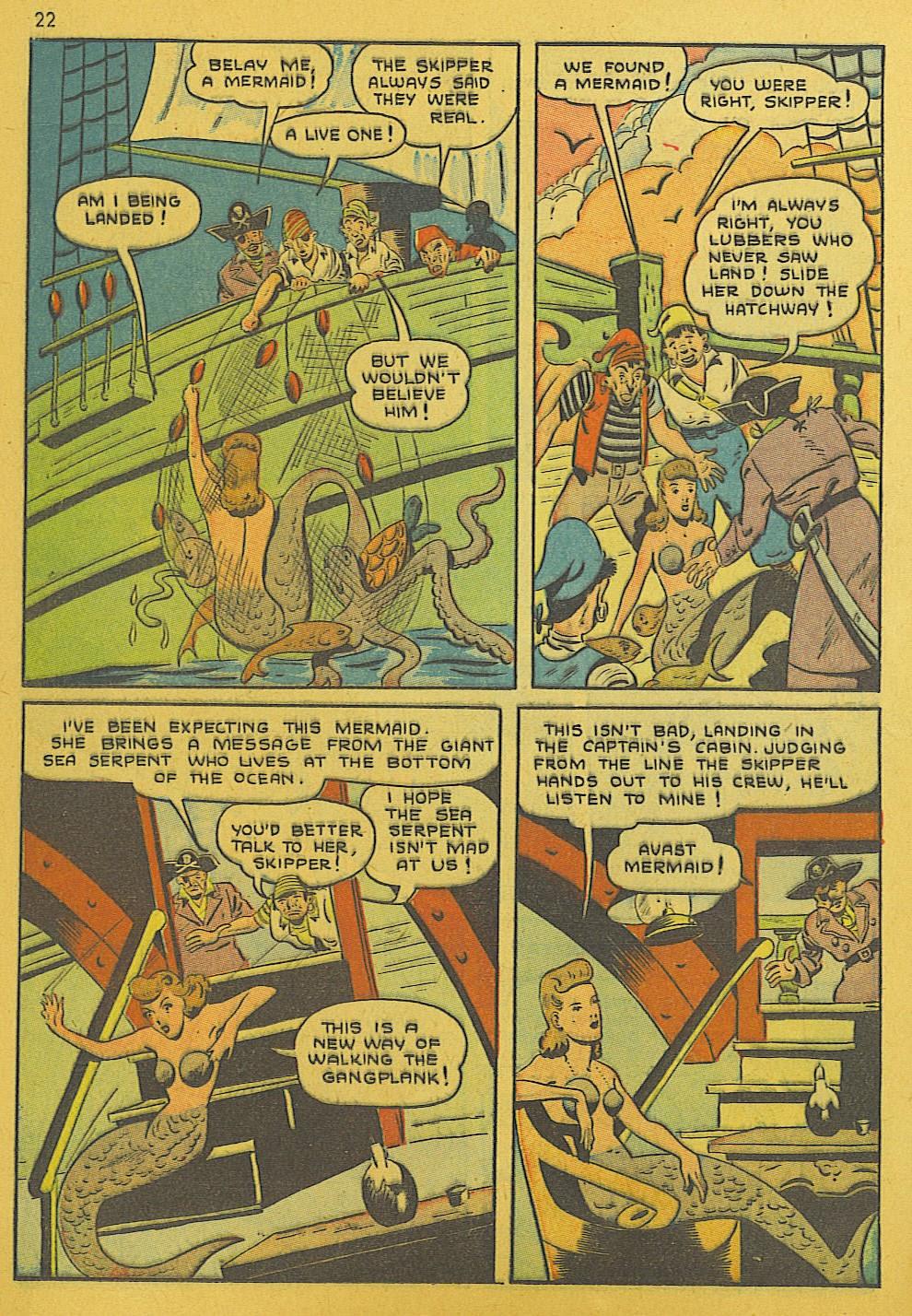 Read online Super-Magician Comics comic -  Issue #10 - 22