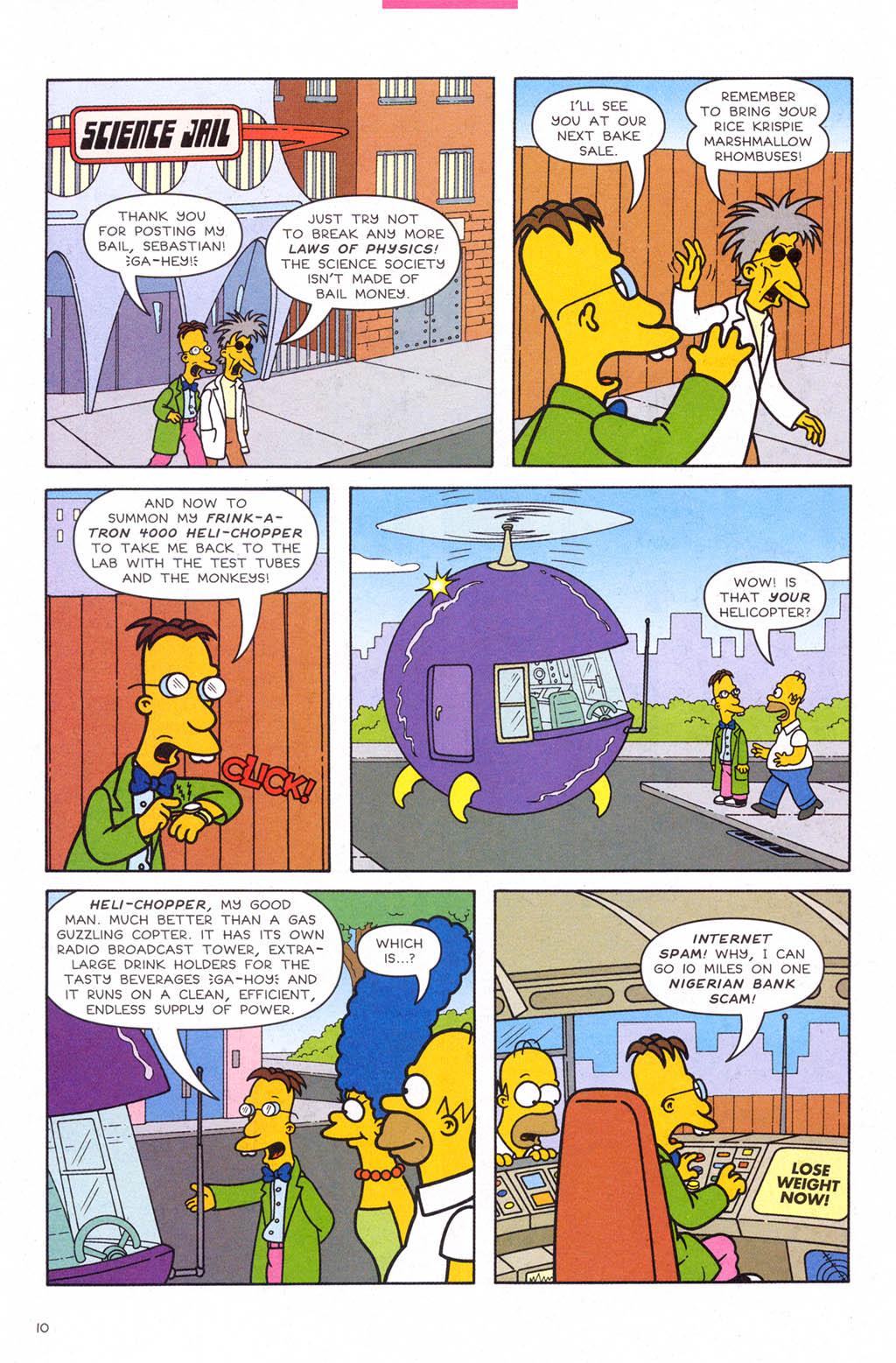 Read online Simpsons Comics comic -  Issue #109 - 11