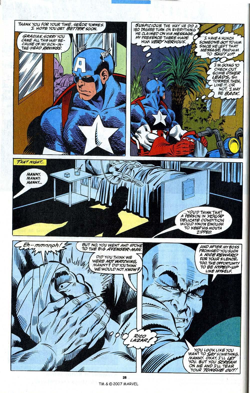 Read online Captain America (1968) comic -  Issue # _Annual 12 - 30
