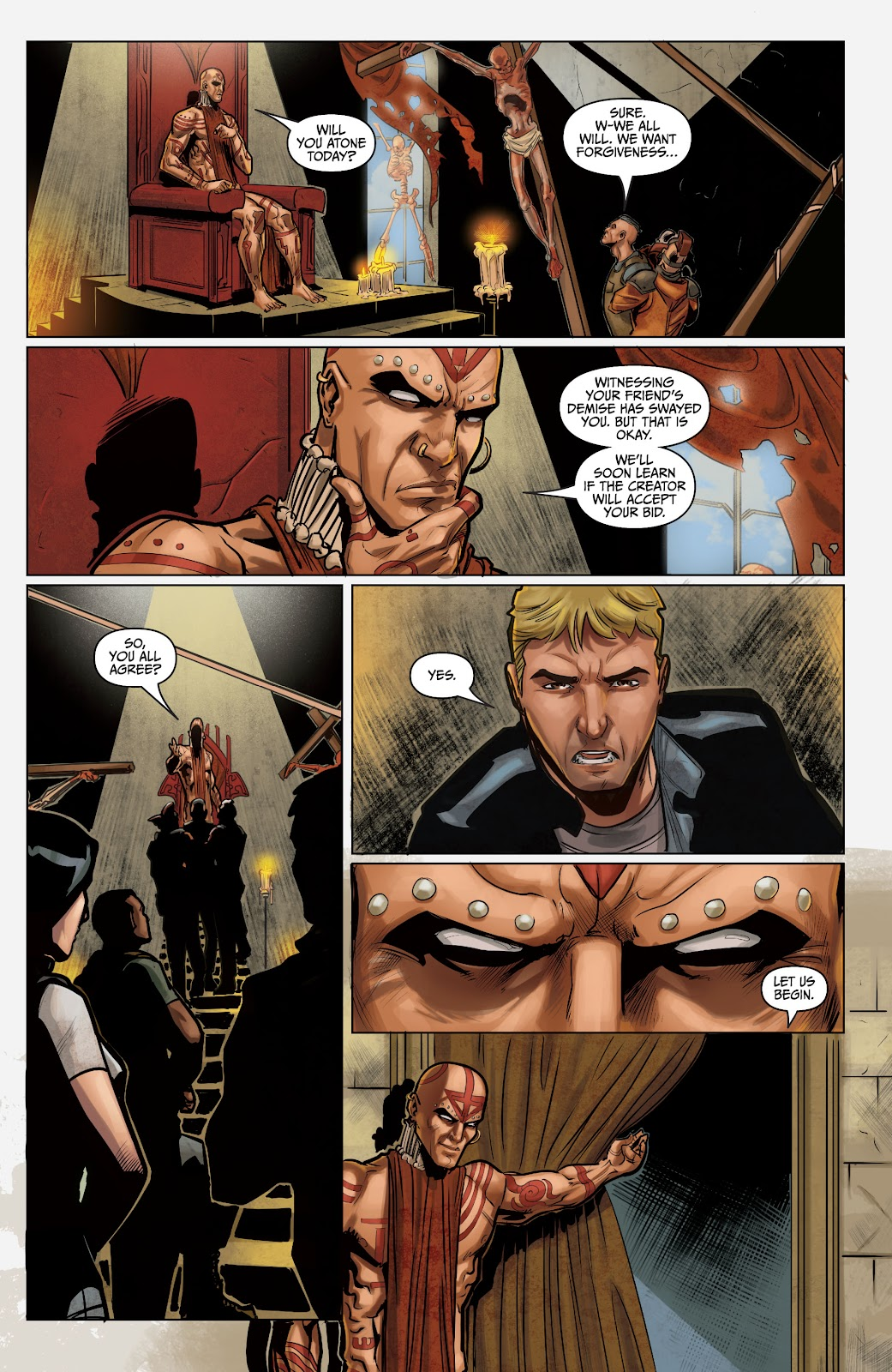 The Courier: Liberty & Death issue 2 - Page 22