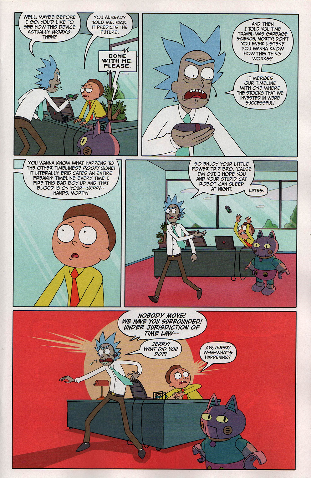 Read online Free Comic Book Day 2017 comic -  Issue # Rick and Morty - 15