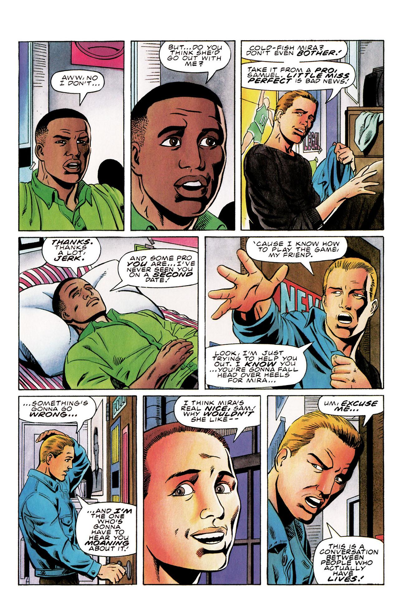 Read online Harbinger (1992) comic -  Issue #30 - 10