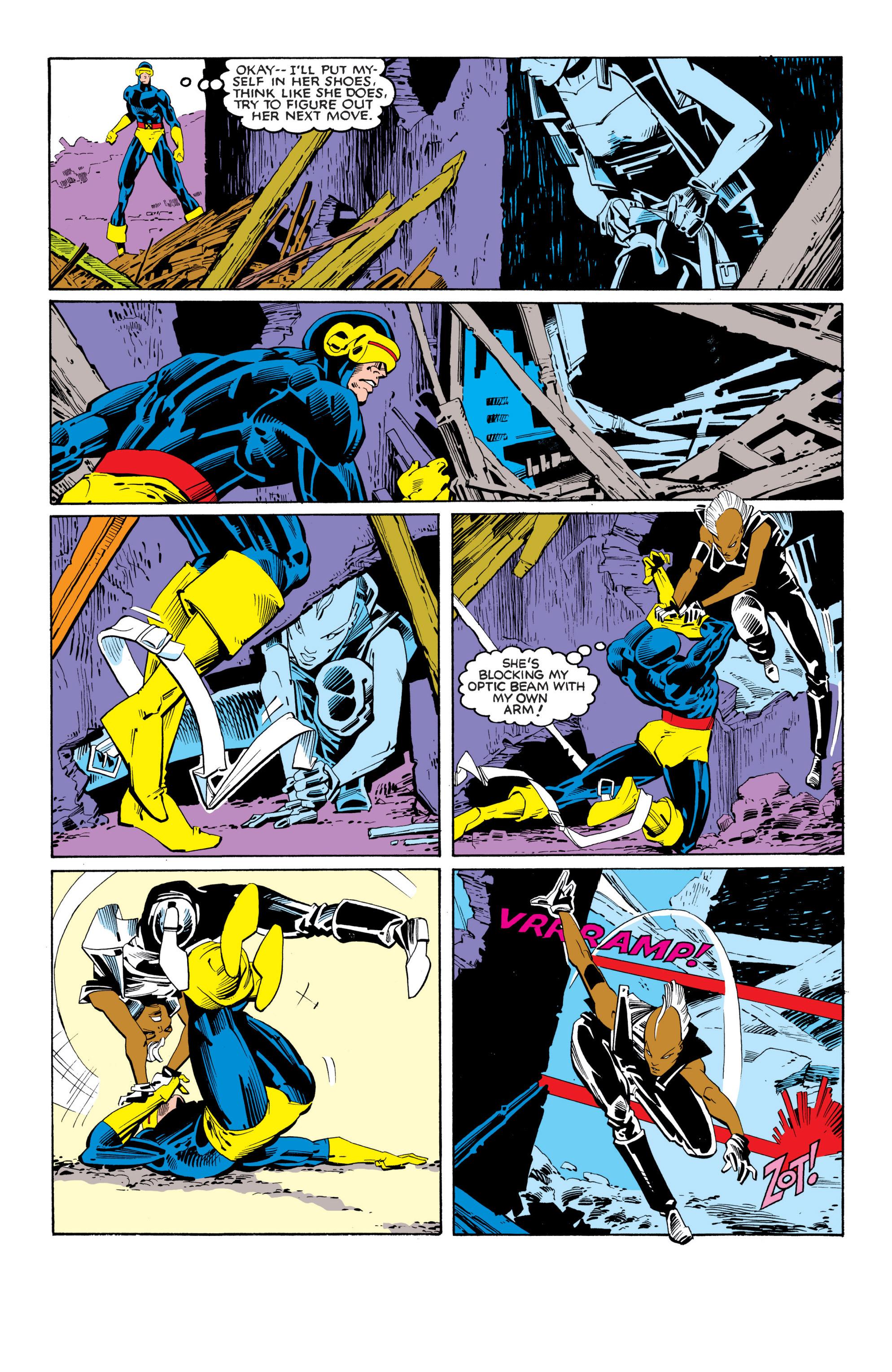 Read online Uncanny X-Men (1963) comic -  Issue #201 - 18