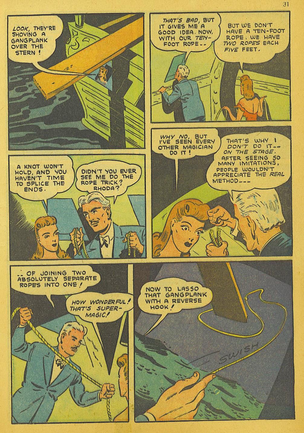 Read online Super-Magician Comics comic -  Issue #10 - 31