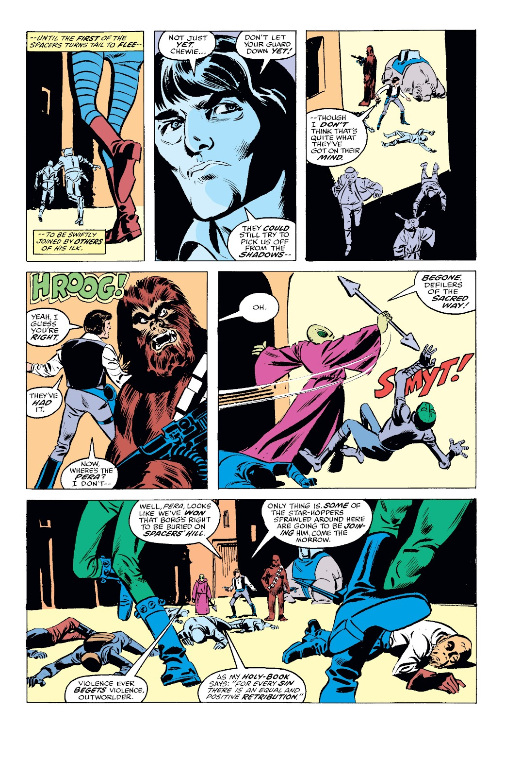 Read online Star Wars Legends: The Original Marvel Years - Epic Collection comic -  Issue # TPB 1 (Part 2) - 31