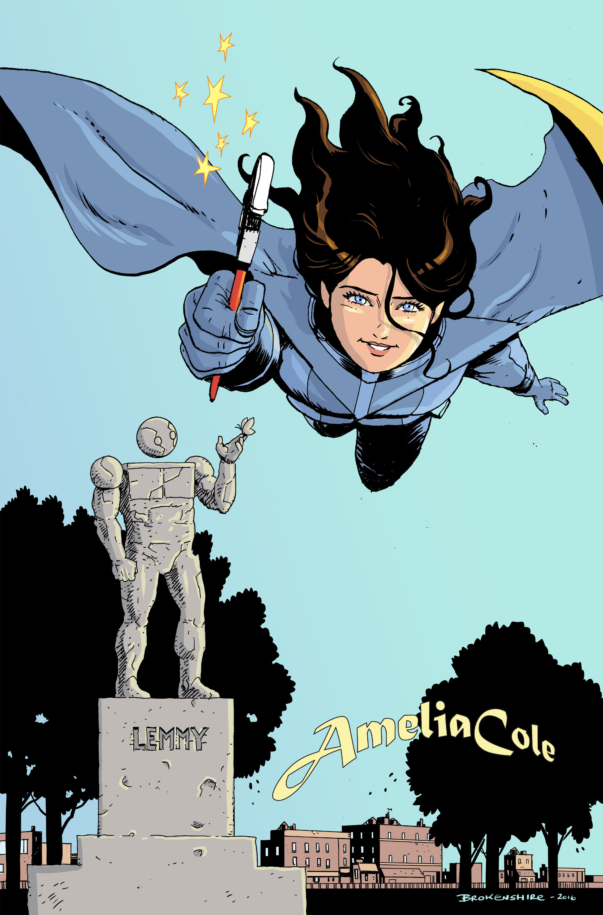 Read online Amelia Cole Versus The End of Everything comic -  Issue #30 - 16