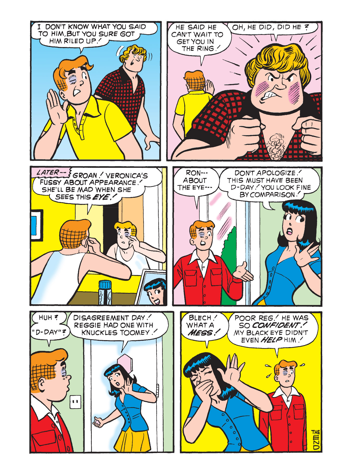 Read online Archie's Funhouse Double Digest comic -  Issue #3 - 85