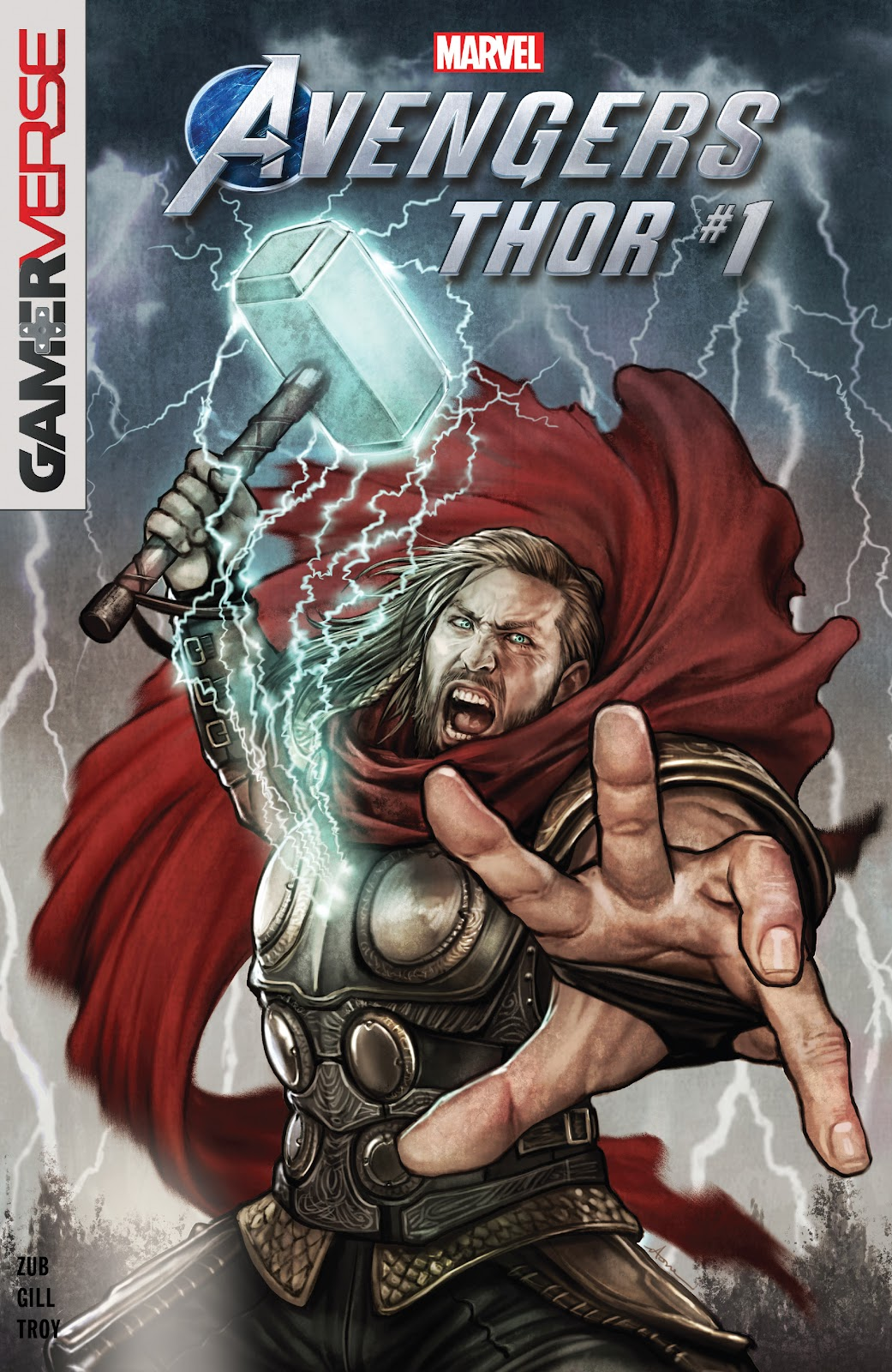 Marvels Avengers Thor Page 1