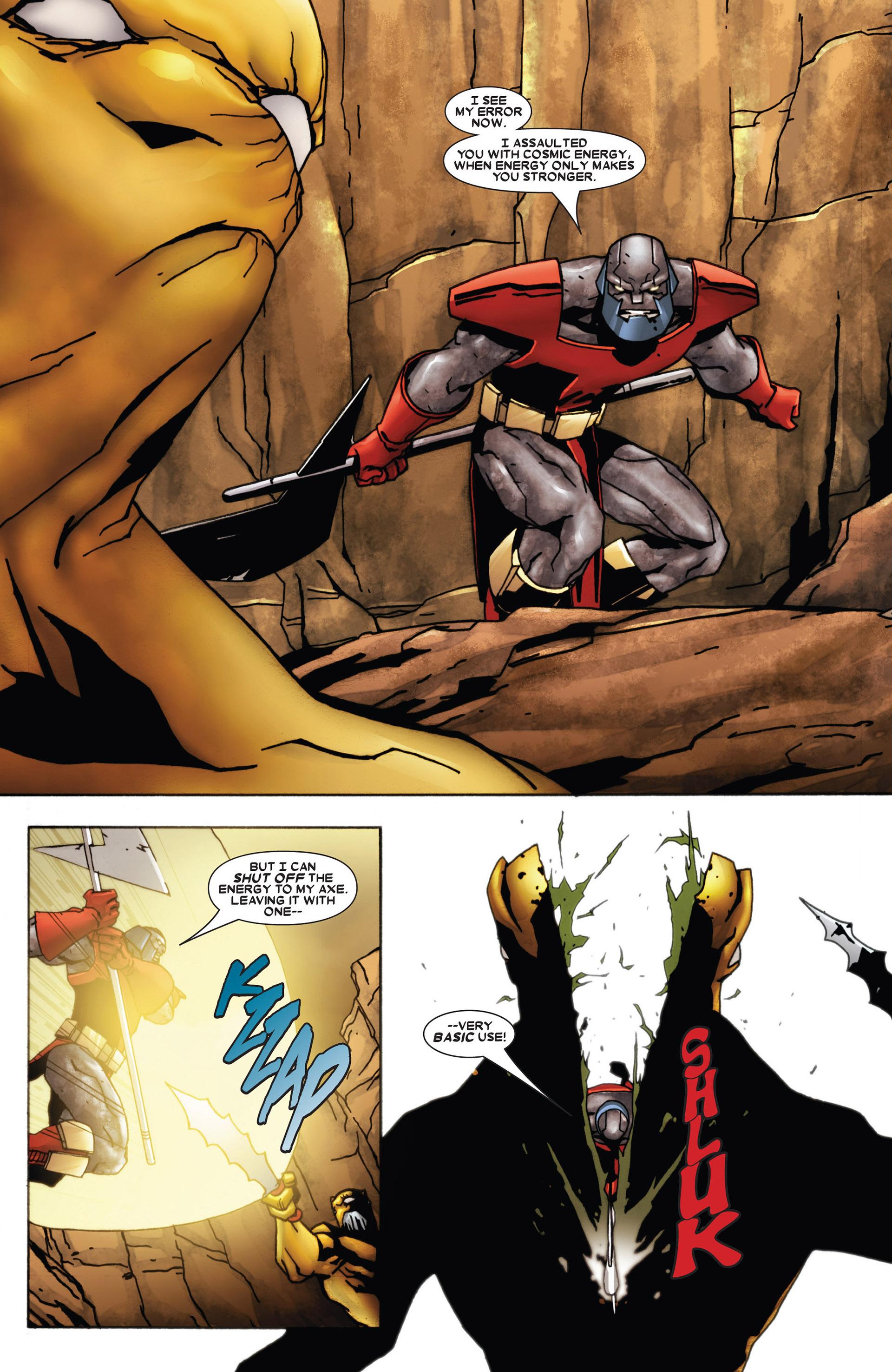 Read online Annihilation: Heralds Of Galactus comic -  Issue #1 - 20