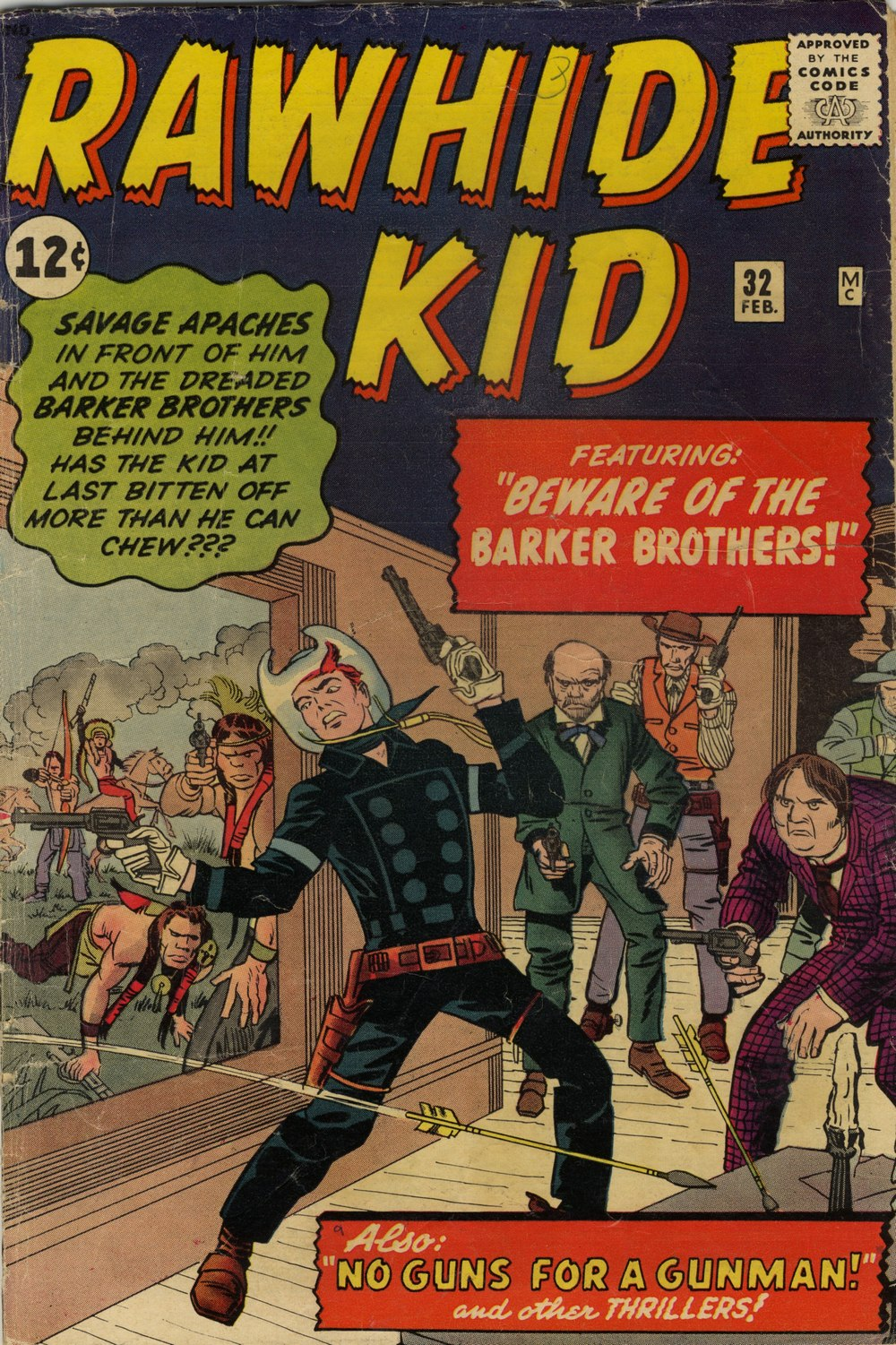 The Rawhide Kid (1955) issue 32 - Page 1