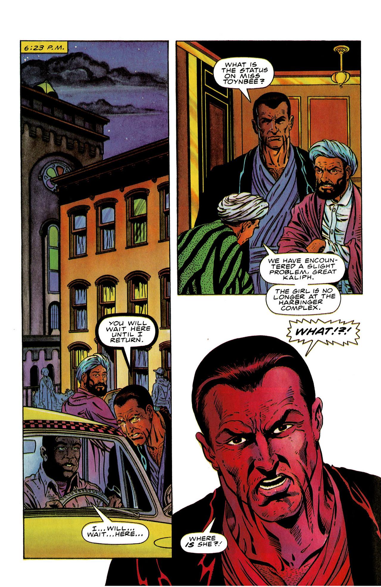Read online Harbinger (1992) comic -  Issue #19 - 10