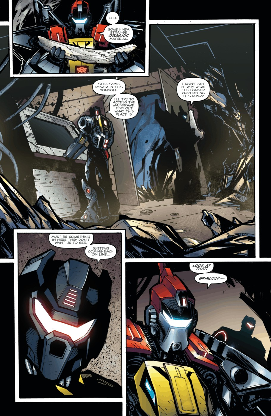 Read online Transformers Prime: Beast Hunters comic -  Issue #3 - 13