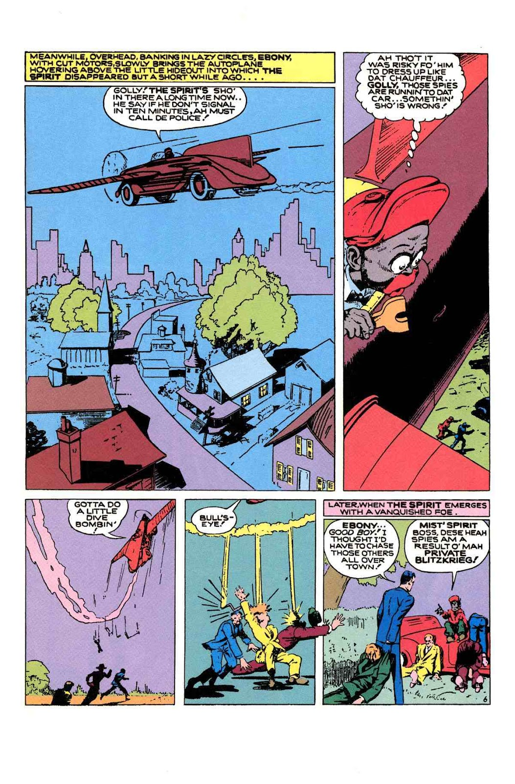 Read online Will Eisner's The Spirit Archives comic -  Issue # TPB 1 (Part 2) - 54